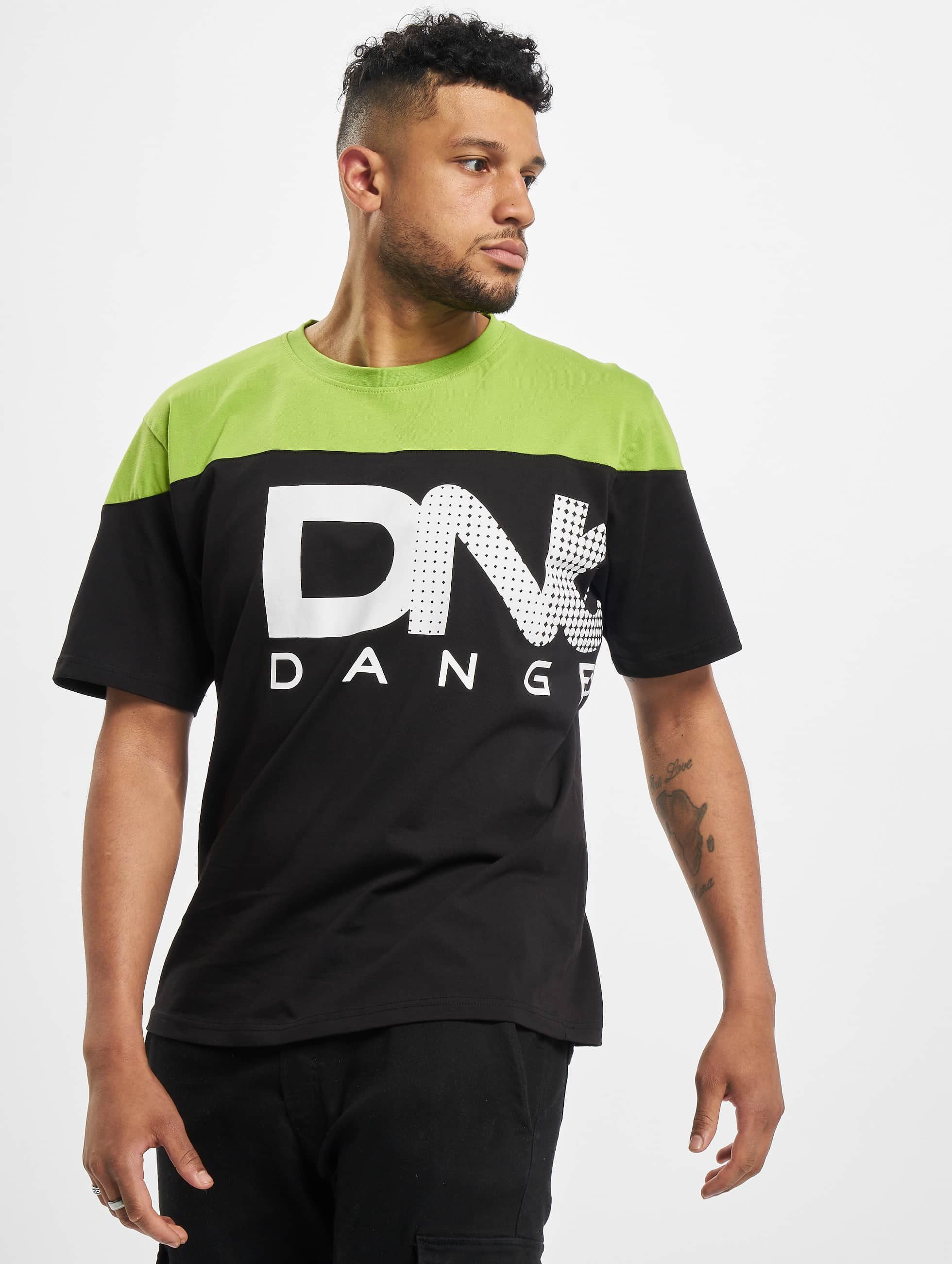 Dangerous DNGRS / T-Shirt Gino in black S