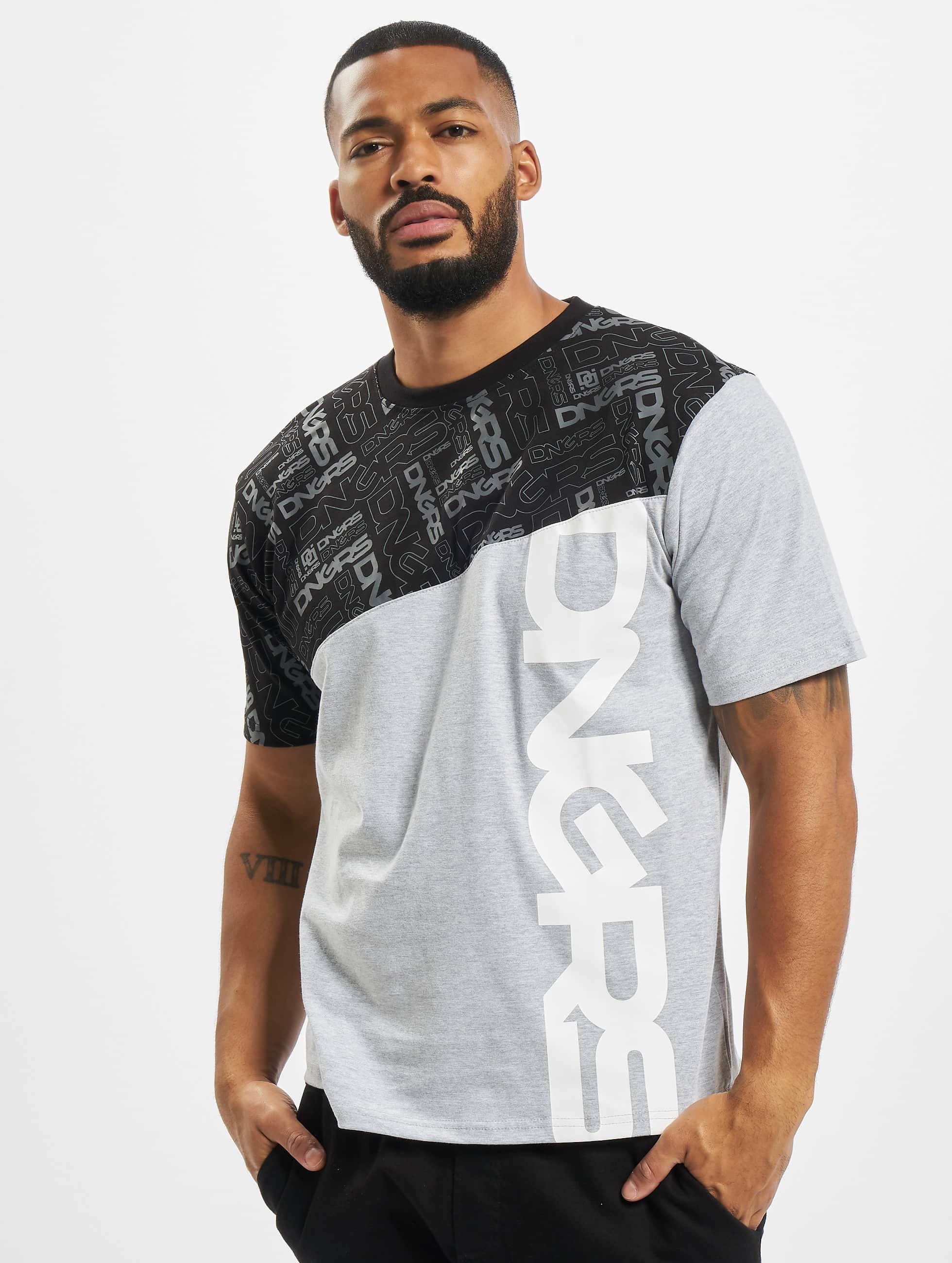 Dangerous DNGRS / T-Shirt CBrick in grey XL
