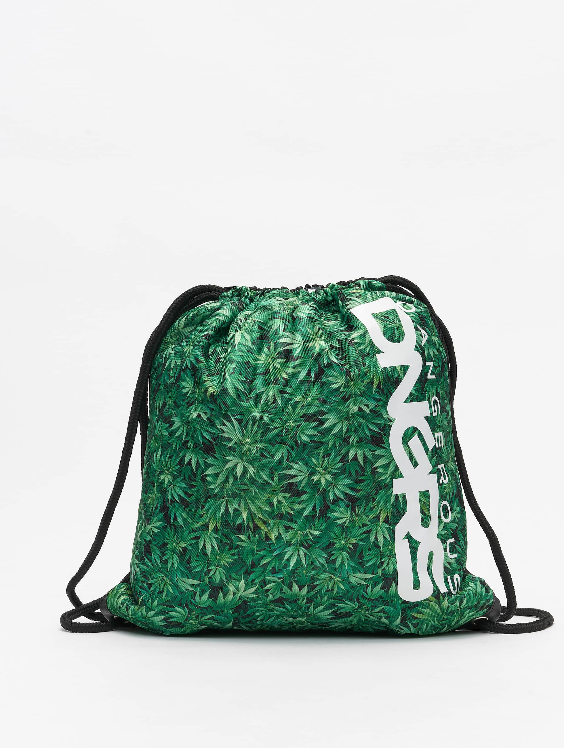 Dangerous DNGRS / Pouch Weed in black One Size