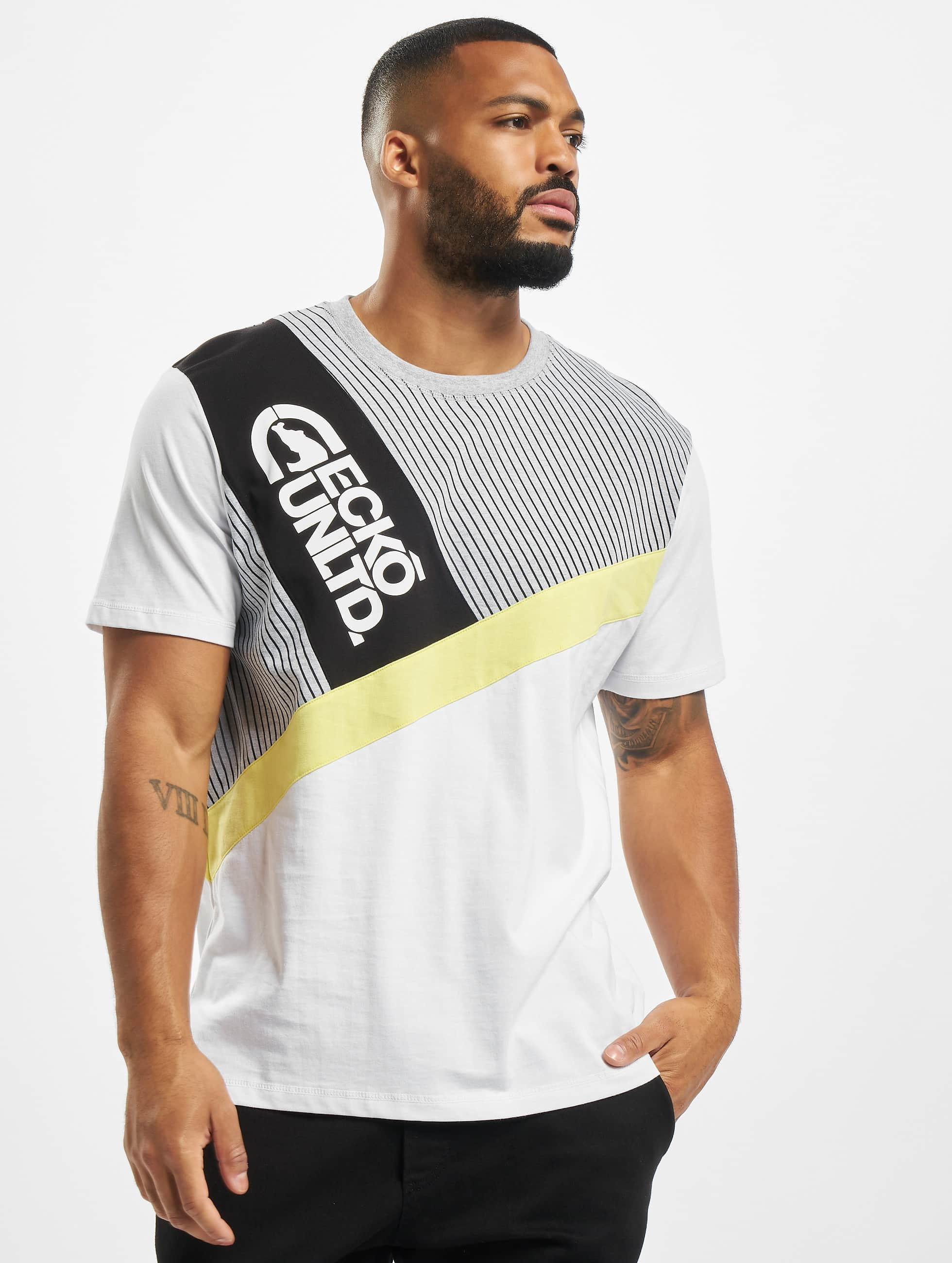 Ecko Unltd. / T-Shirt Jackso in white XL