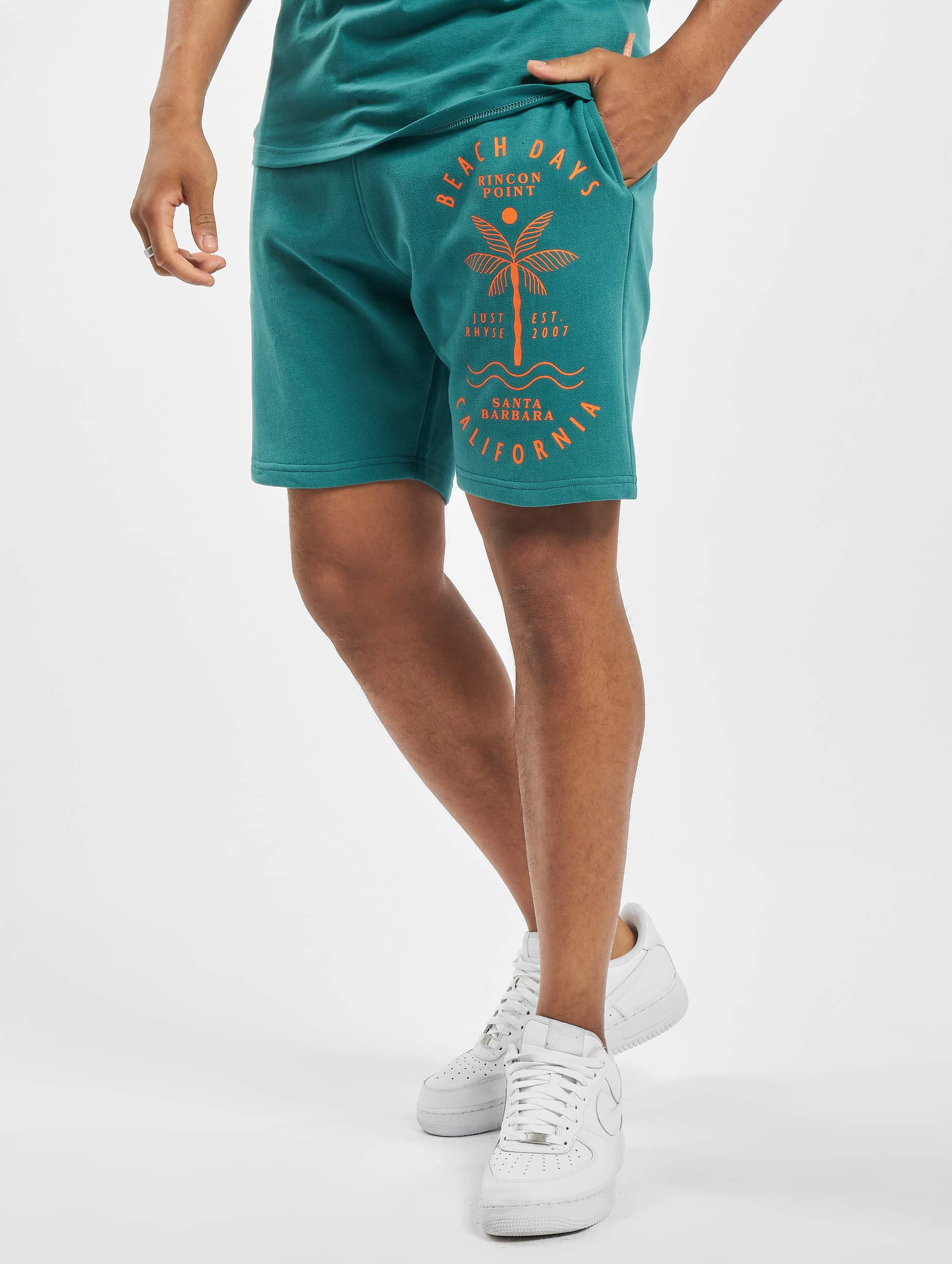 Just Rhyse / Short Carara in turquoise XL