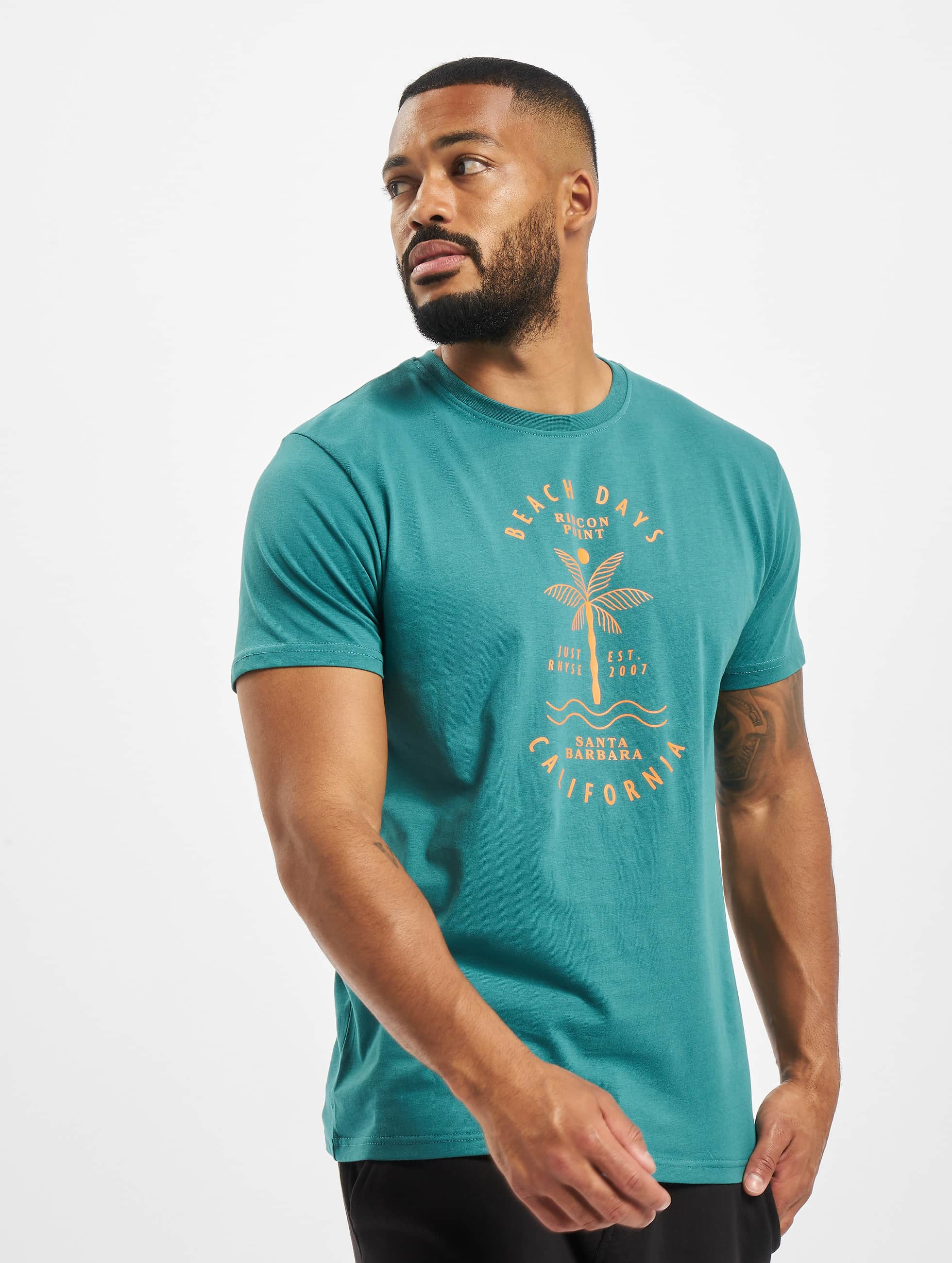 Just Rhyse / T-Shirt Carara in turquoise S