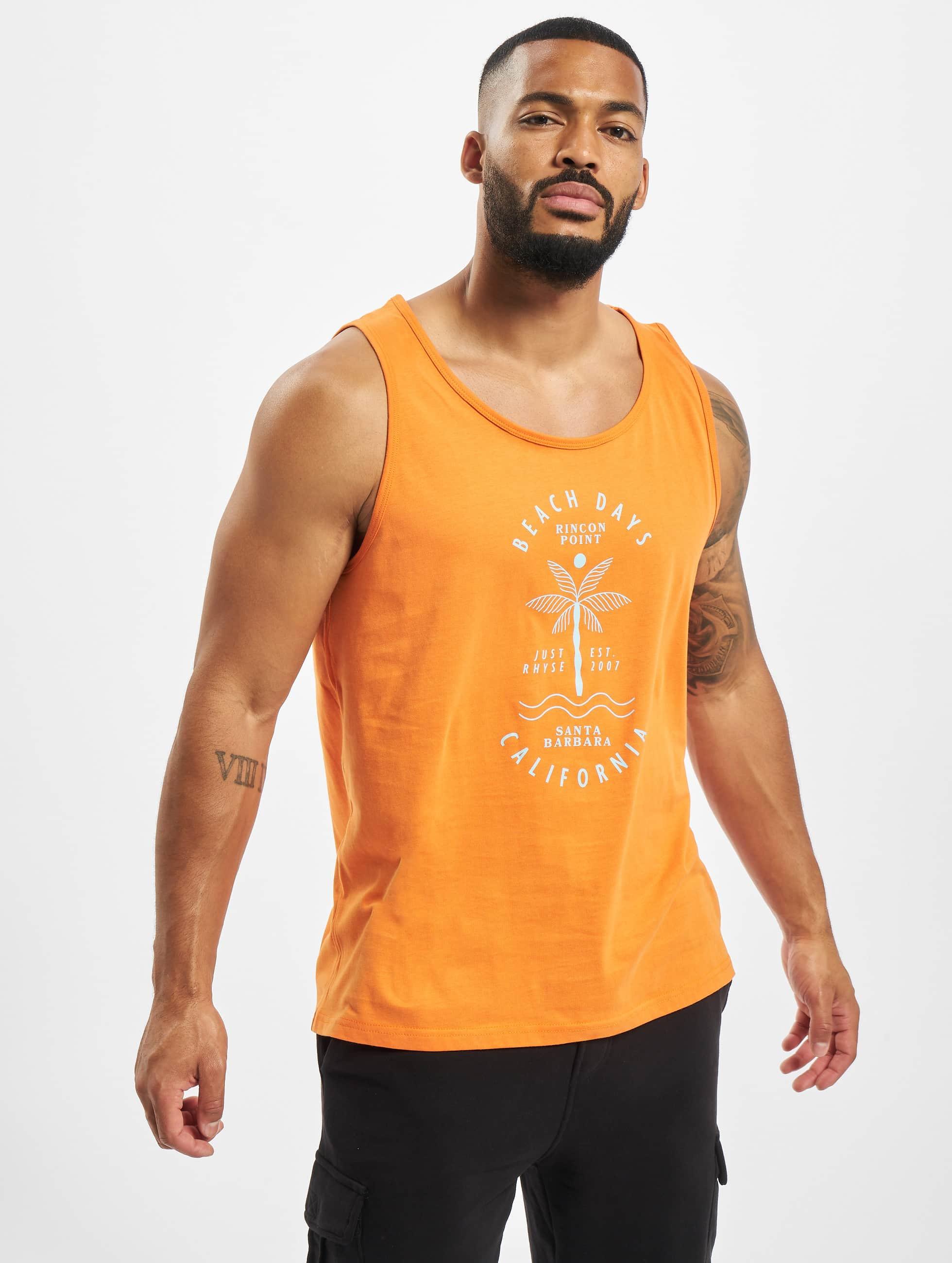 Just Rhyse / Tank Tops Carara in orange XL