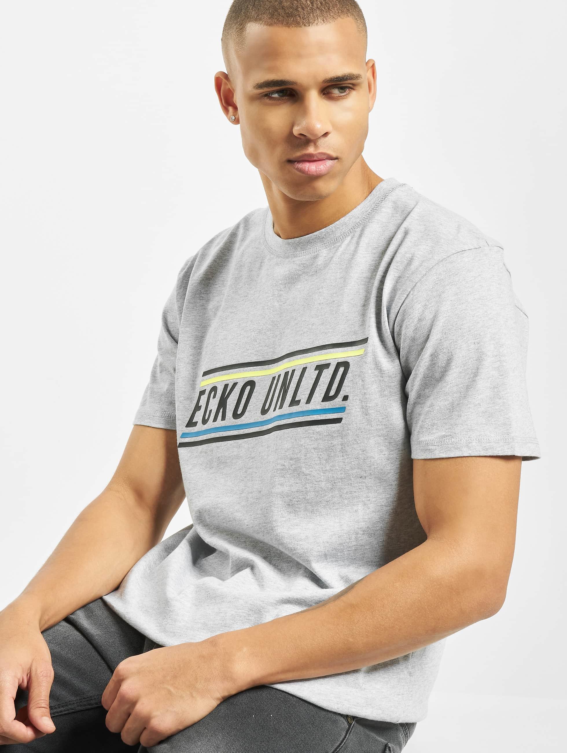Ecko Unltd. / T-Shirt Carlton in grey XL