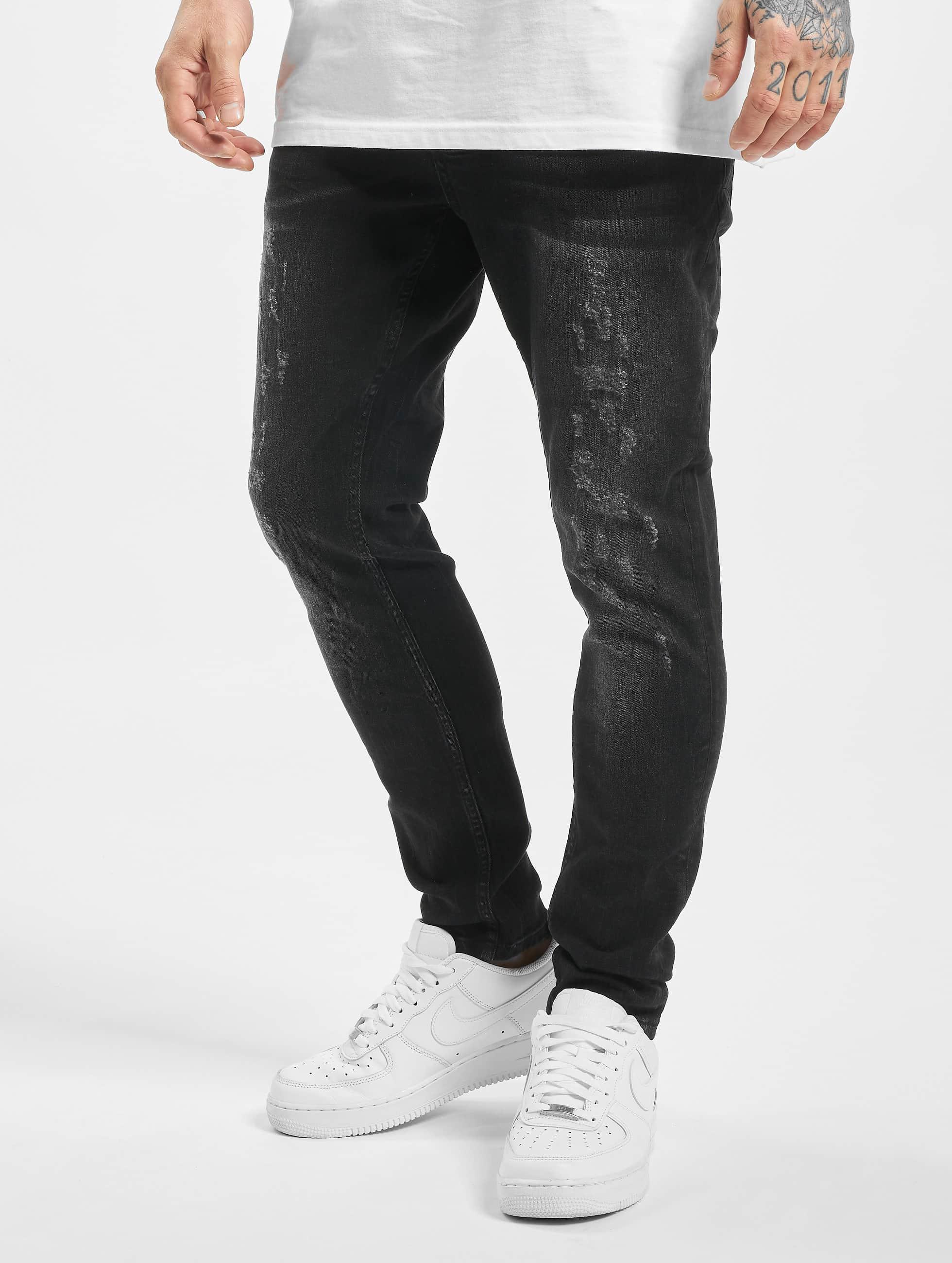 2Y / Slim Fit Jeans Aaron in black W 30