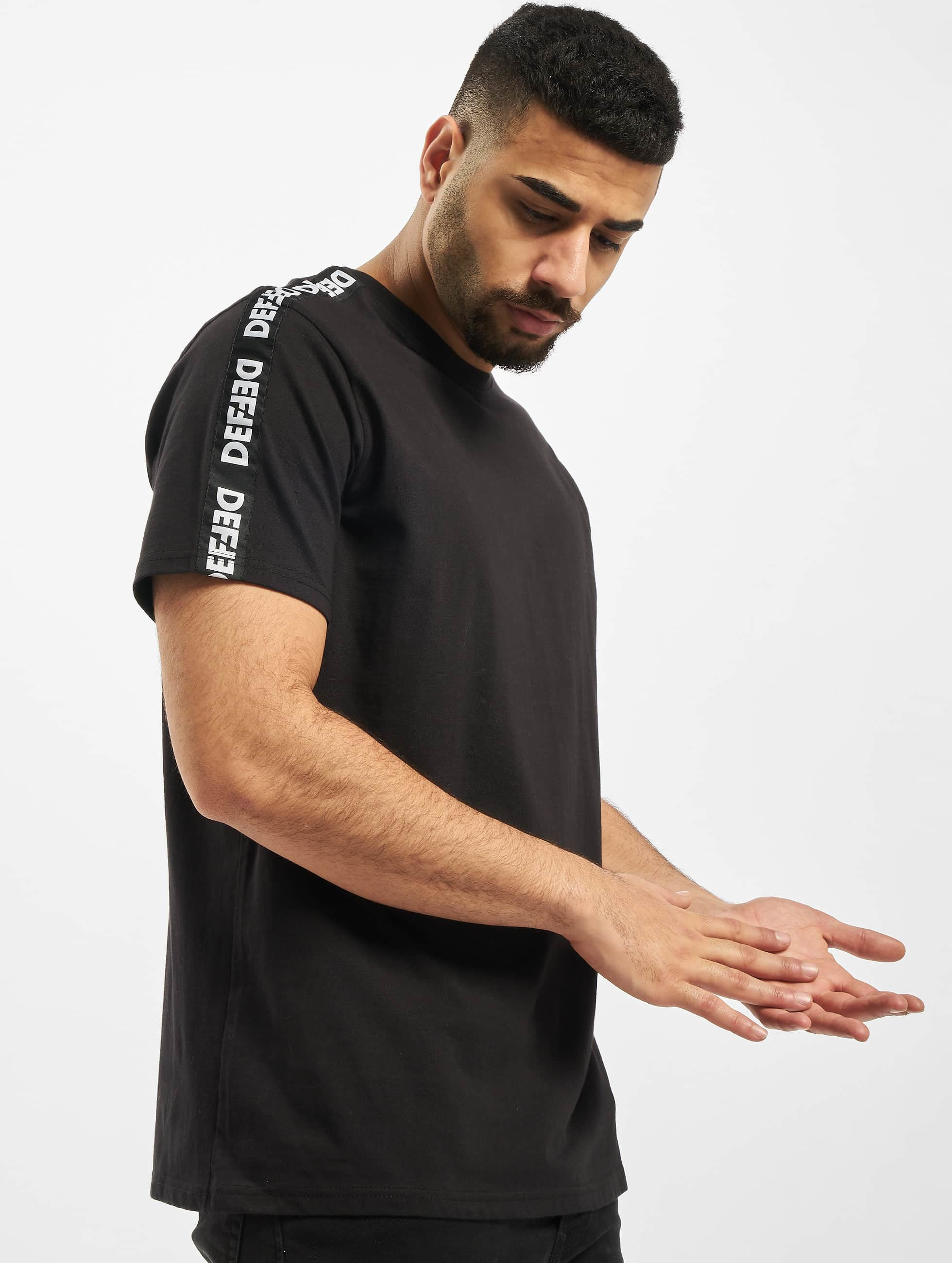 DEF / T-Shirt Hekla in black 2XL