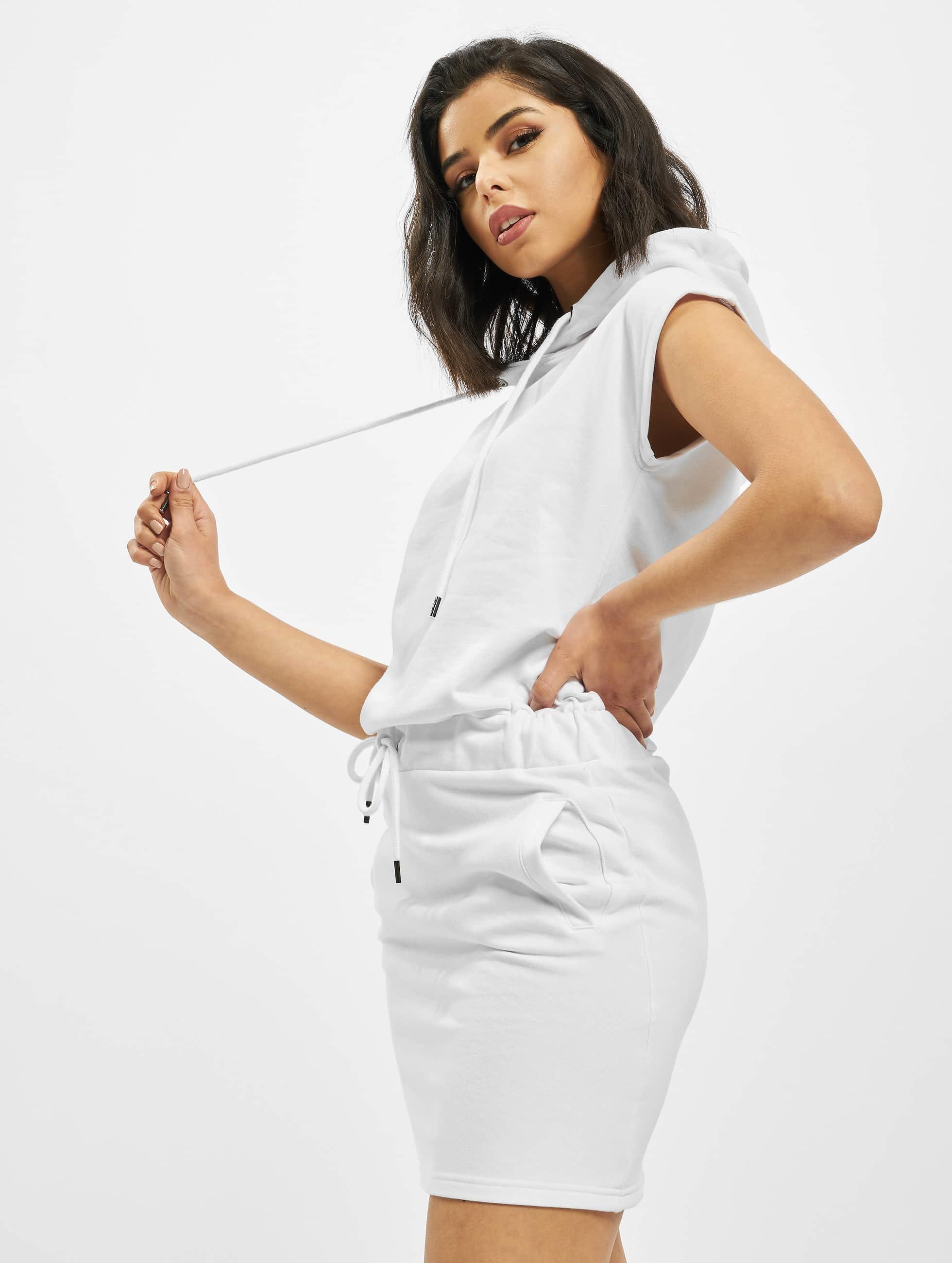 DEF / Dress Alina in white XS