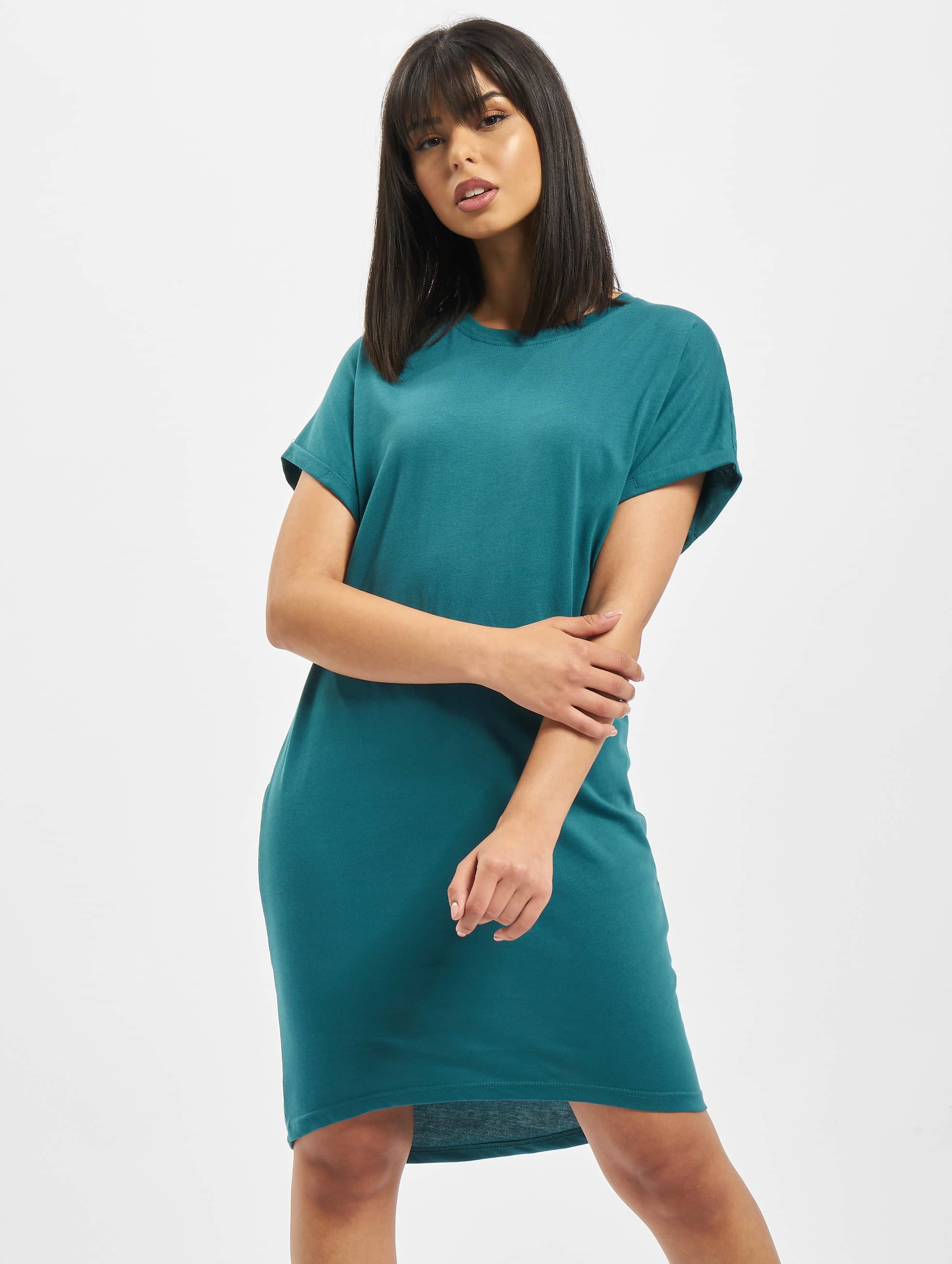DEF / Dress Agung in turquoise M