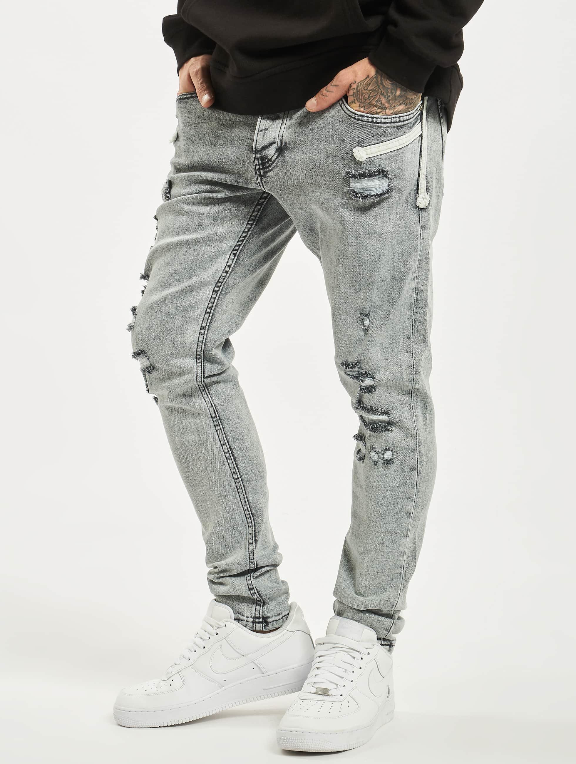 2Y / Slim Fit Jeans Malik in grey W 33