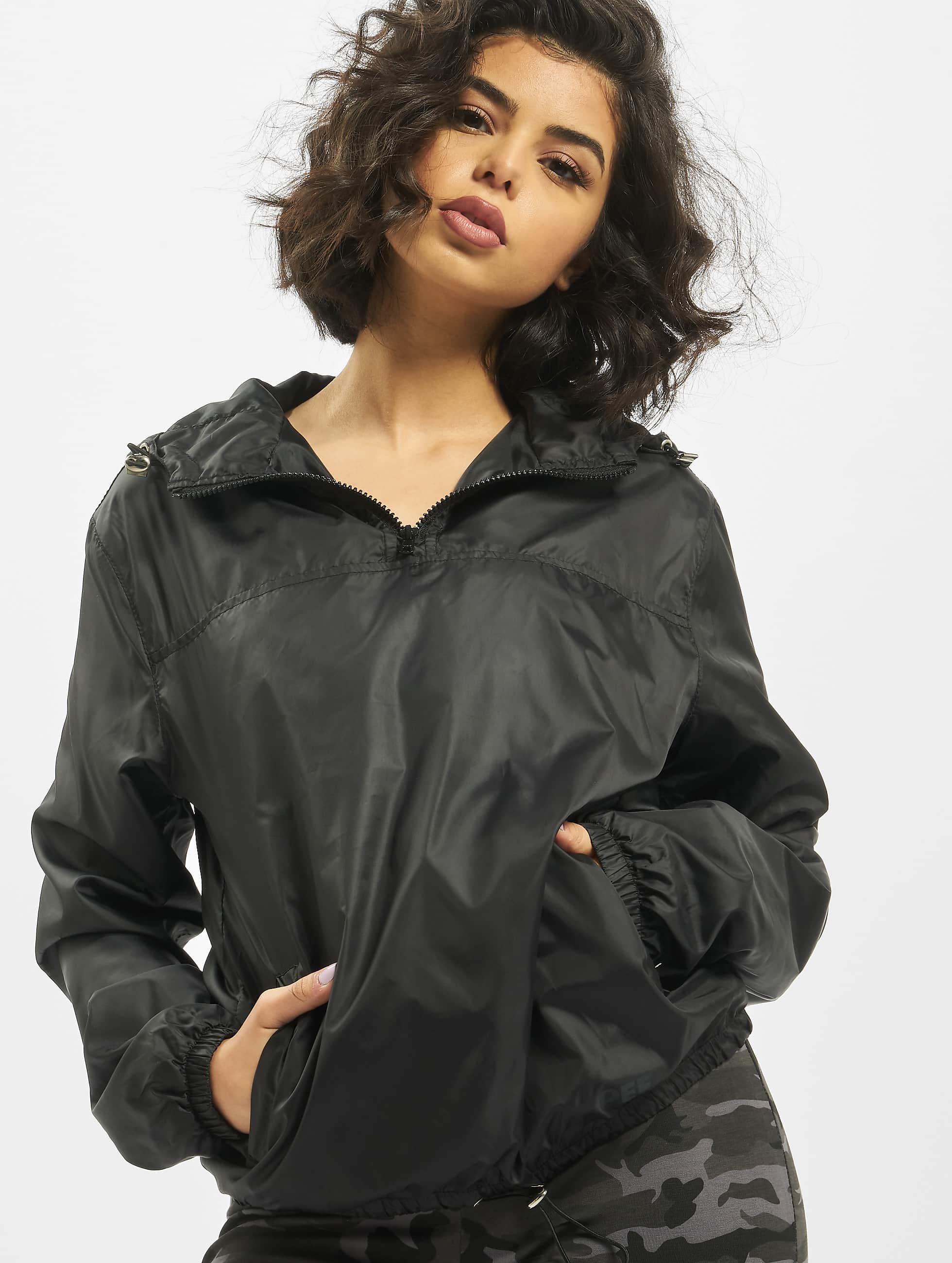 DEF / Lightweight Jacket Ramie in black XS