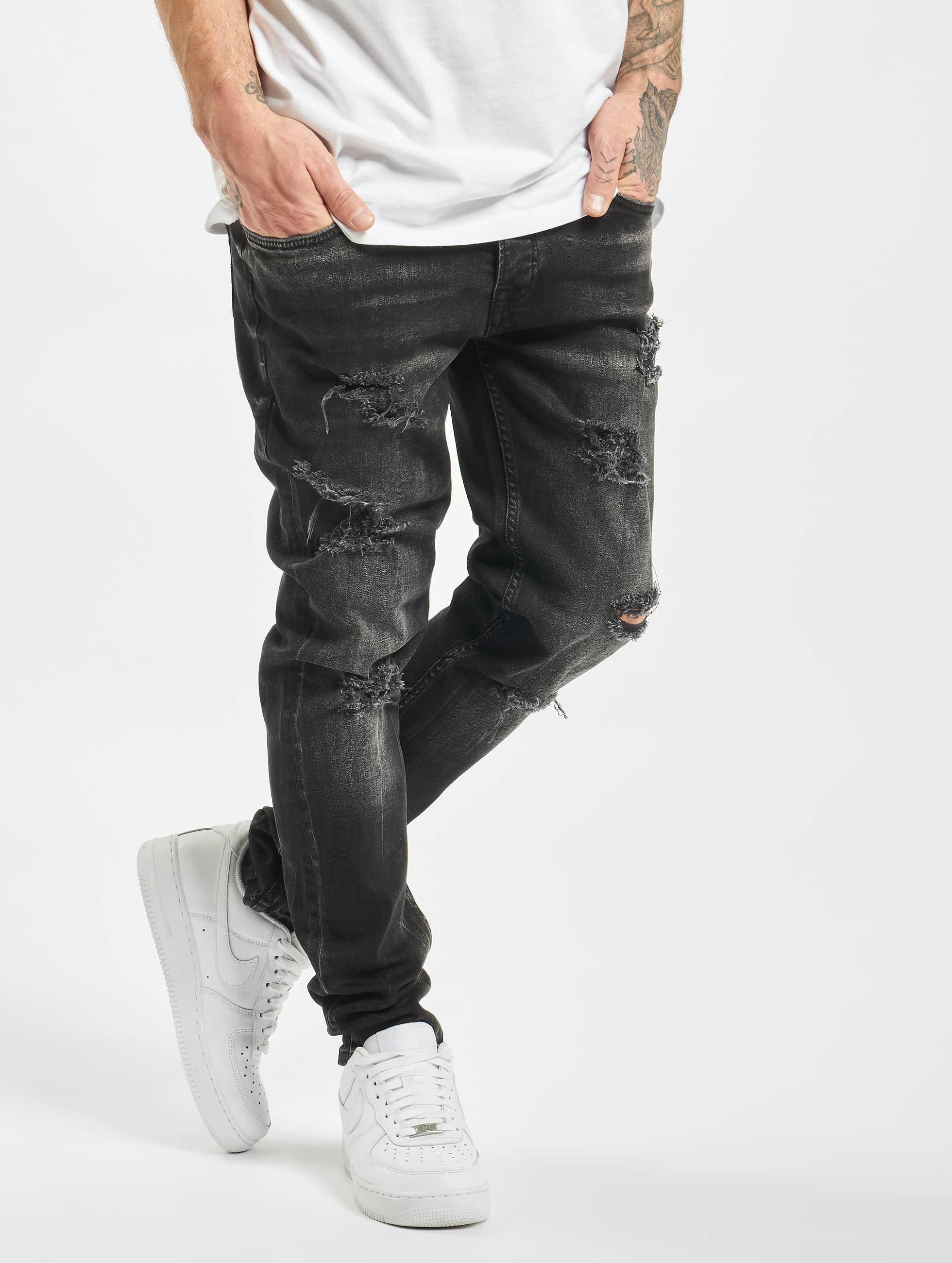 2Y / Slim Fit Jeans Flory in black W 29