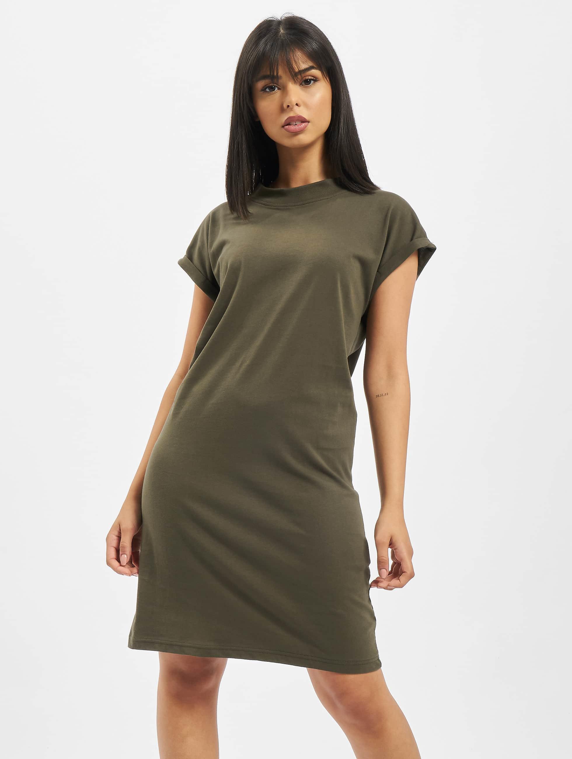 DEF / Dress Oliana in olive XS