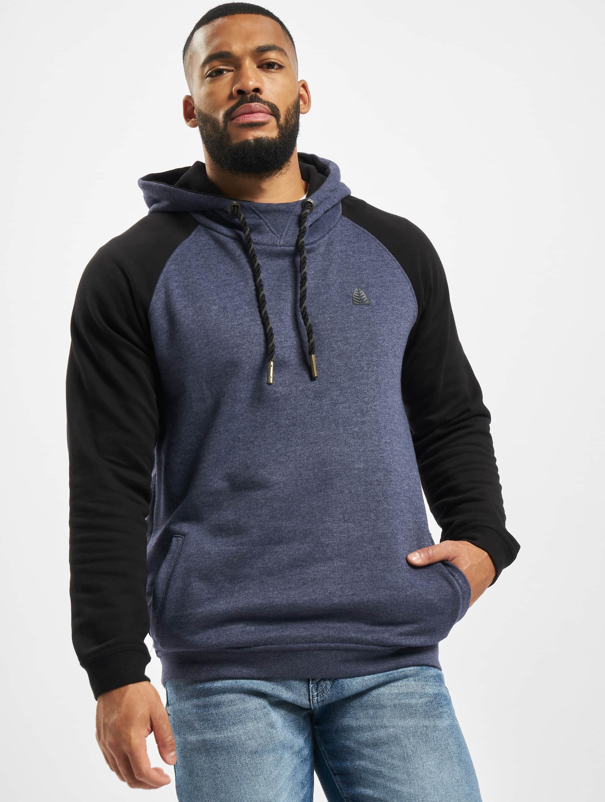 Just Rhyse / Hoodie Mr. Raglan in blue 3XL