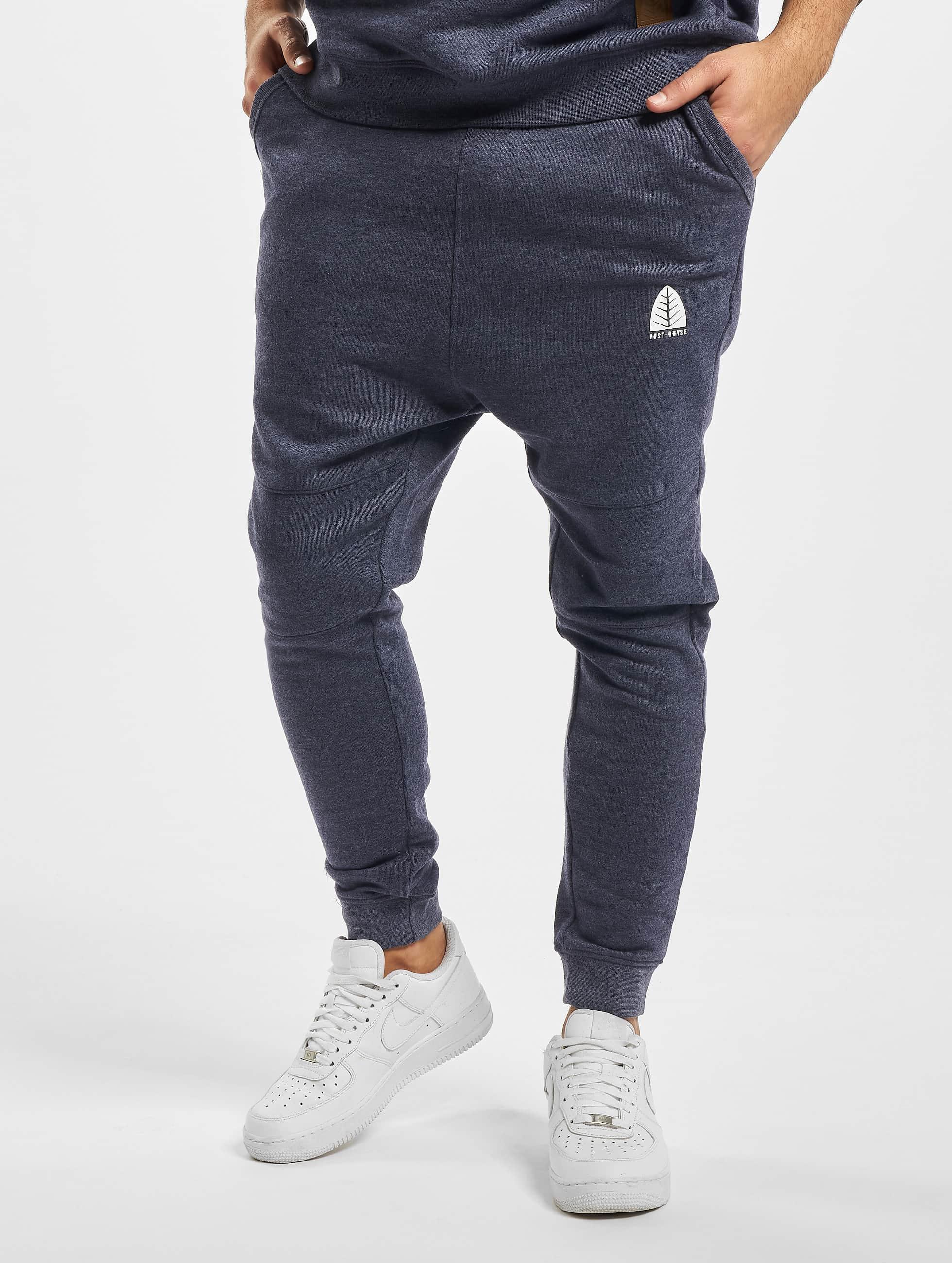 Just Rhyse / Sweat Pant Rainrock in blue XL