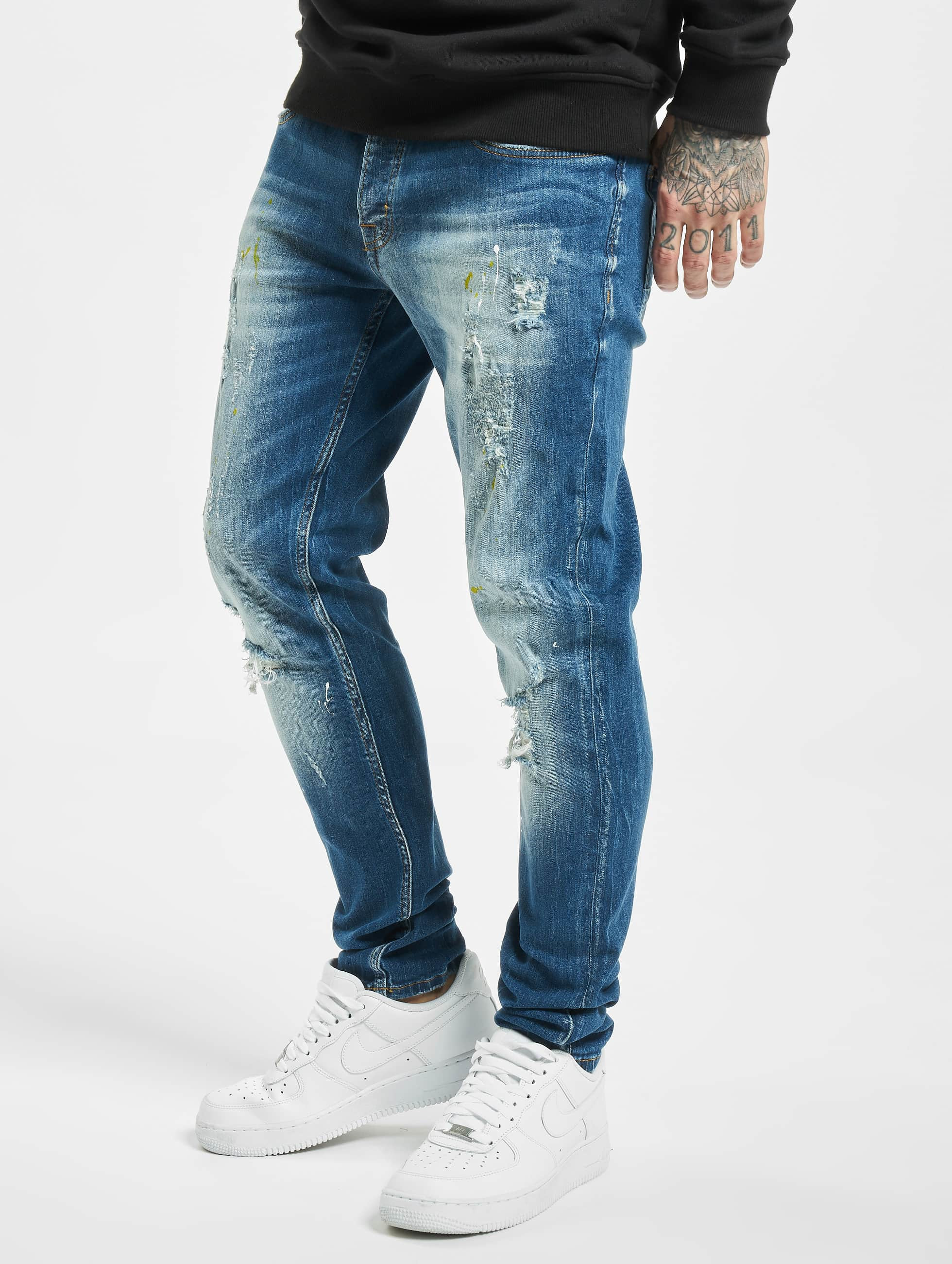 2Y / Slim Fit Jeans Okan in blue W 33
