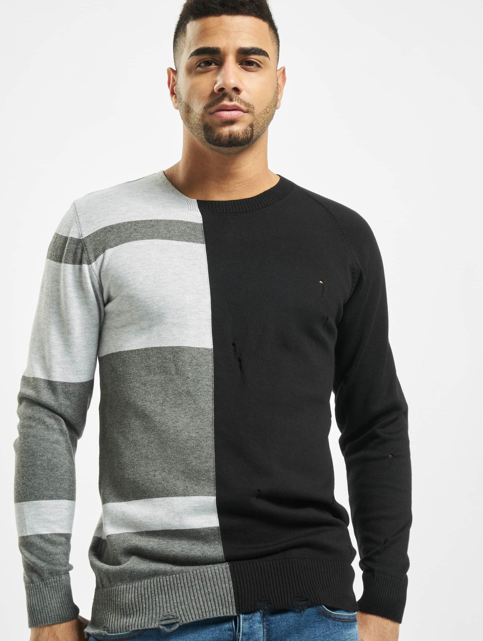 2Y / Jumper Poplar Knit in black XL