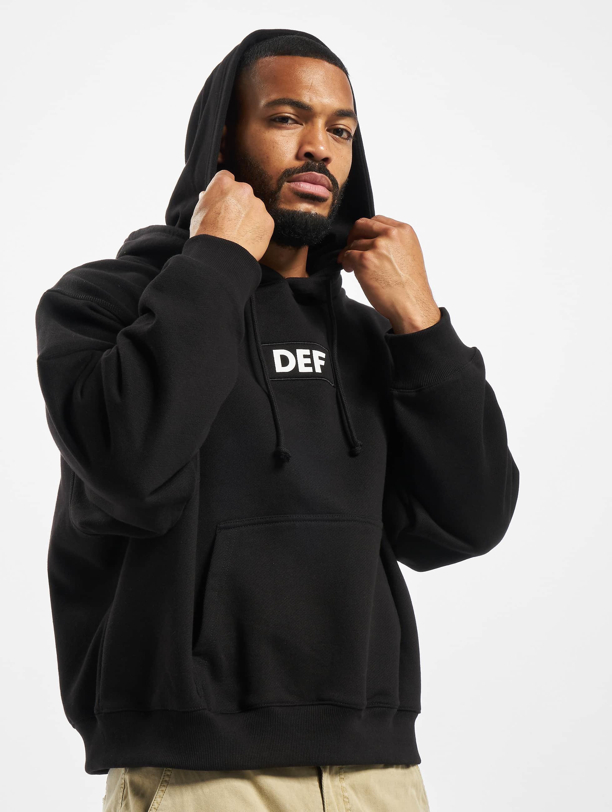 DEF / Hoodie Franky in black XL