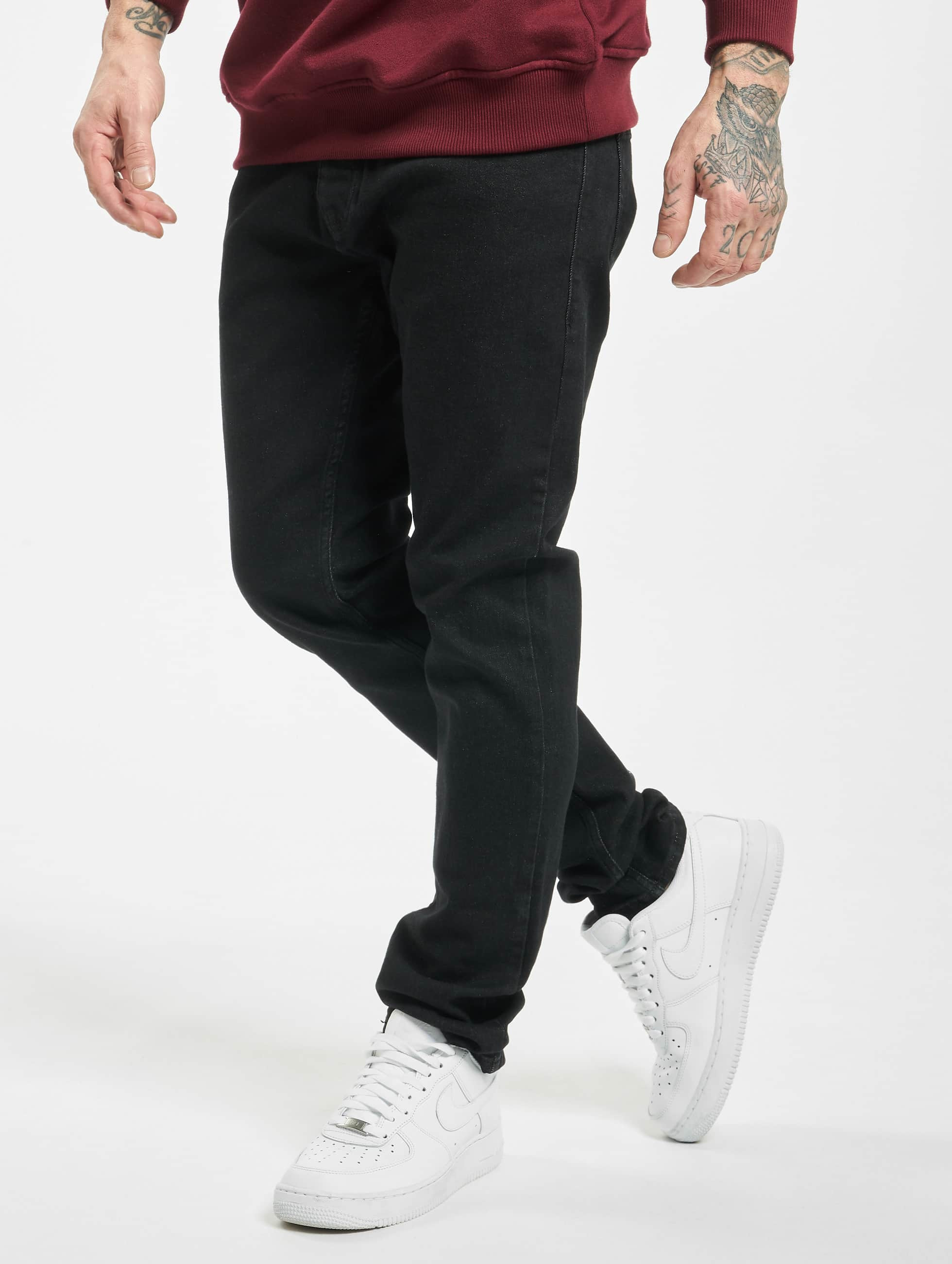 2Y / Slim Fit Jeans Cengiz in black W 36