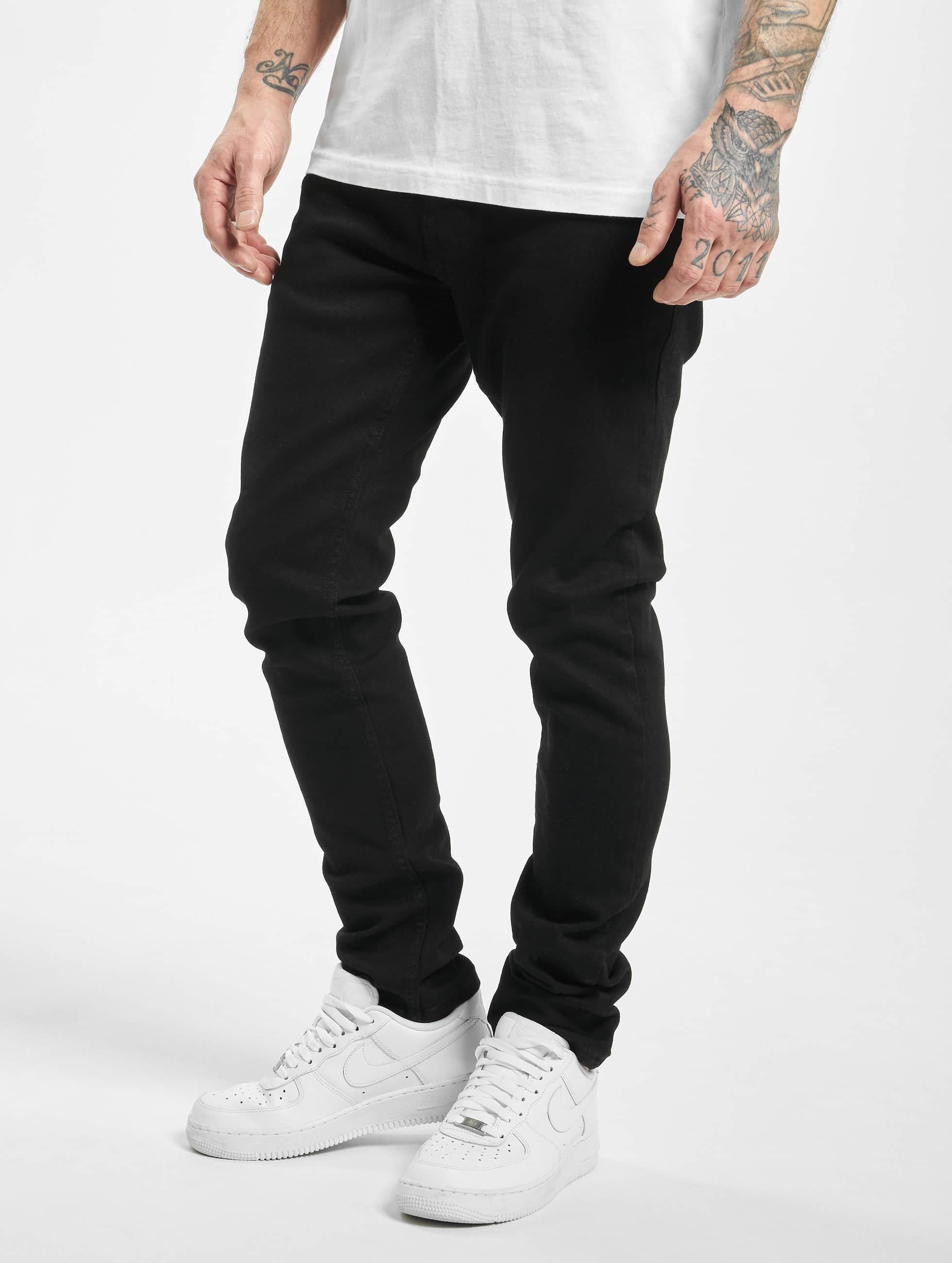 2Y / Slim Fit Jeans Colin in black W 34