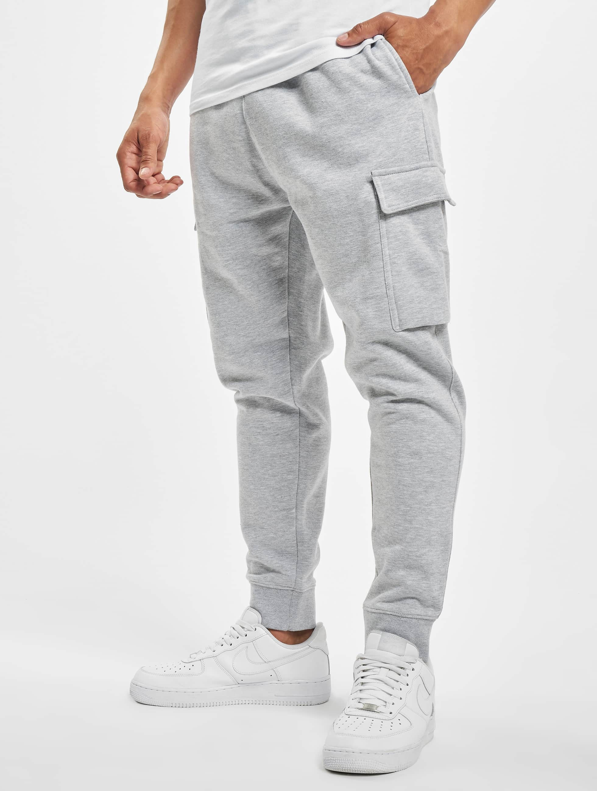 DEF / Sweat Pant Denni in grey XL