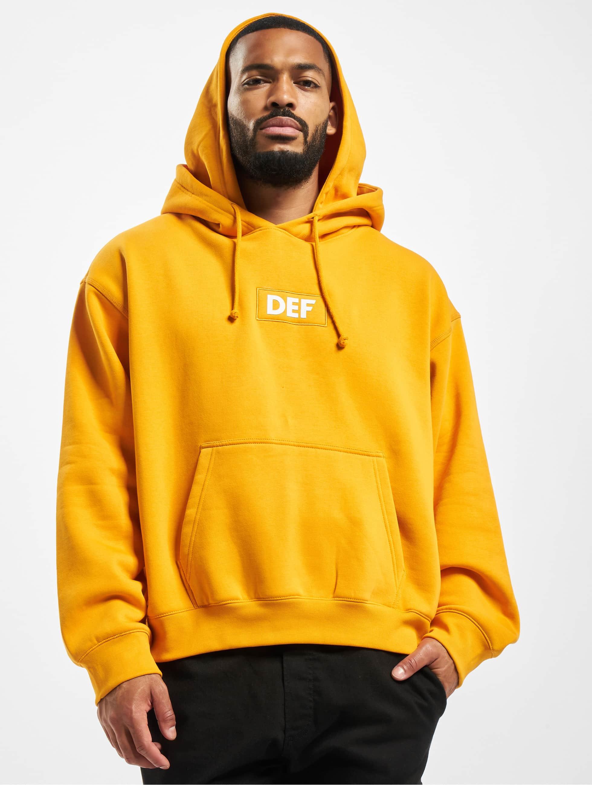 DEF / Hoodie Sean in orange S