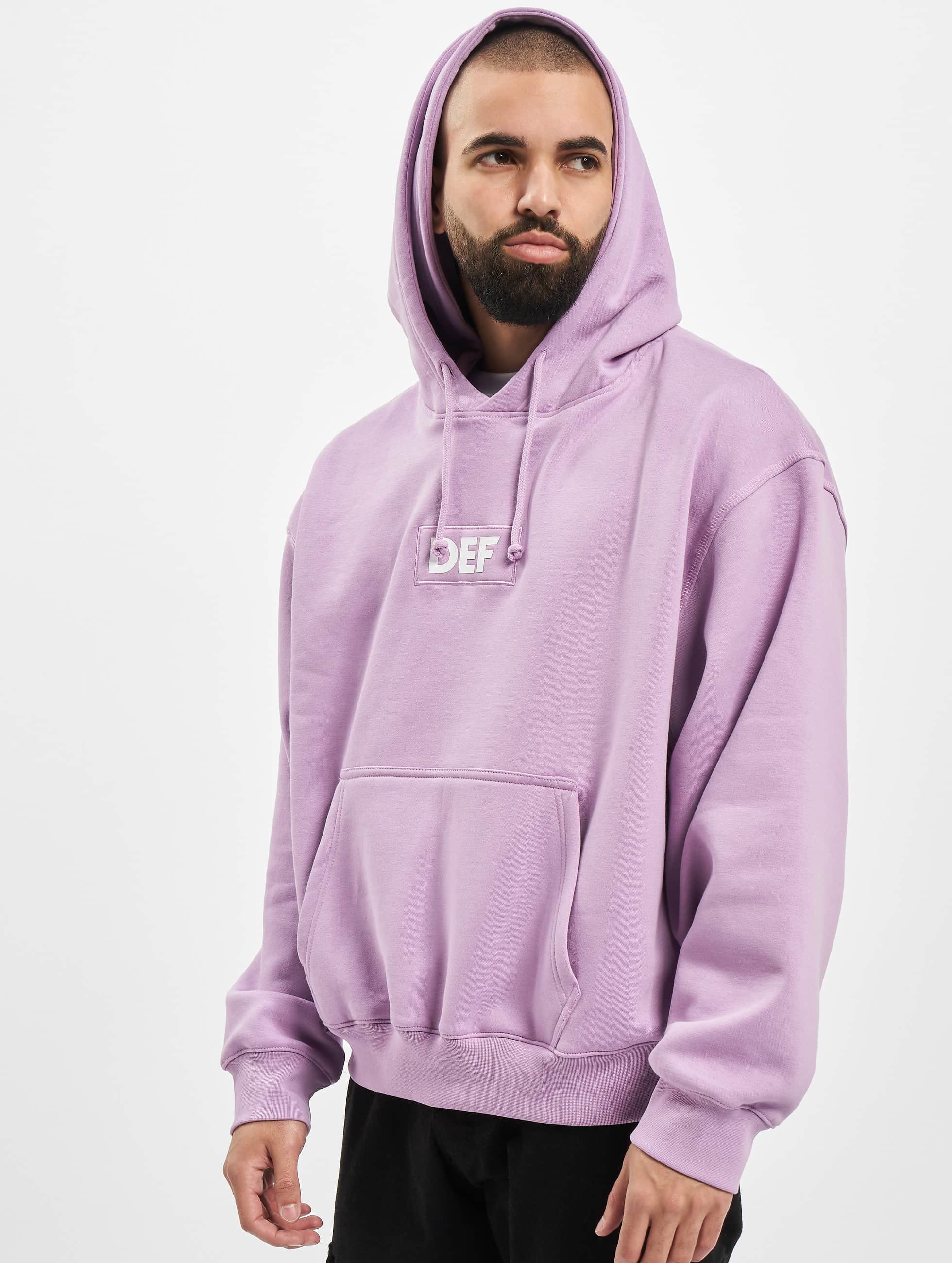 DEF / Hoodie Sean in purple XL