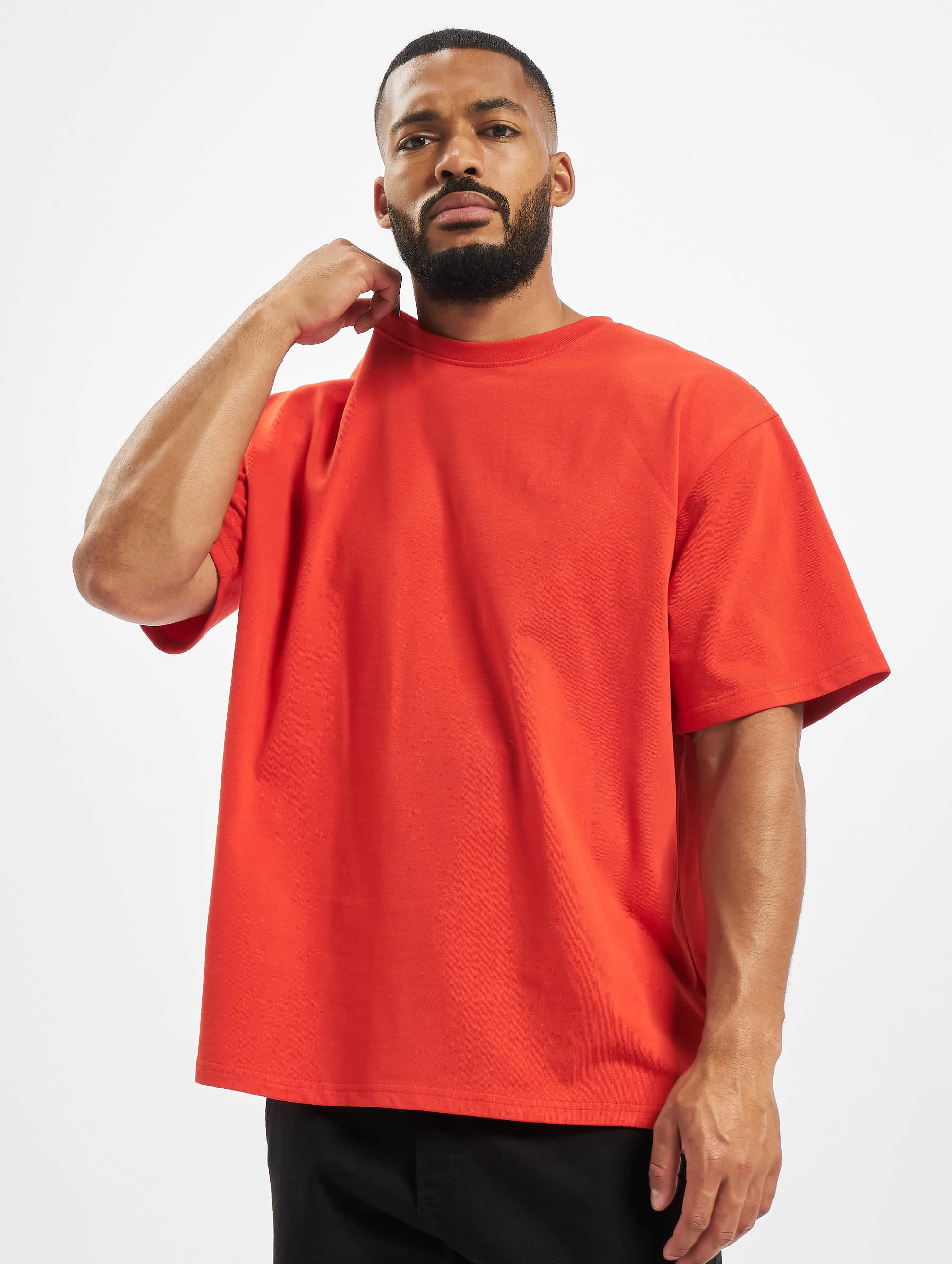 DEF / T-Shirt Larry in red XL