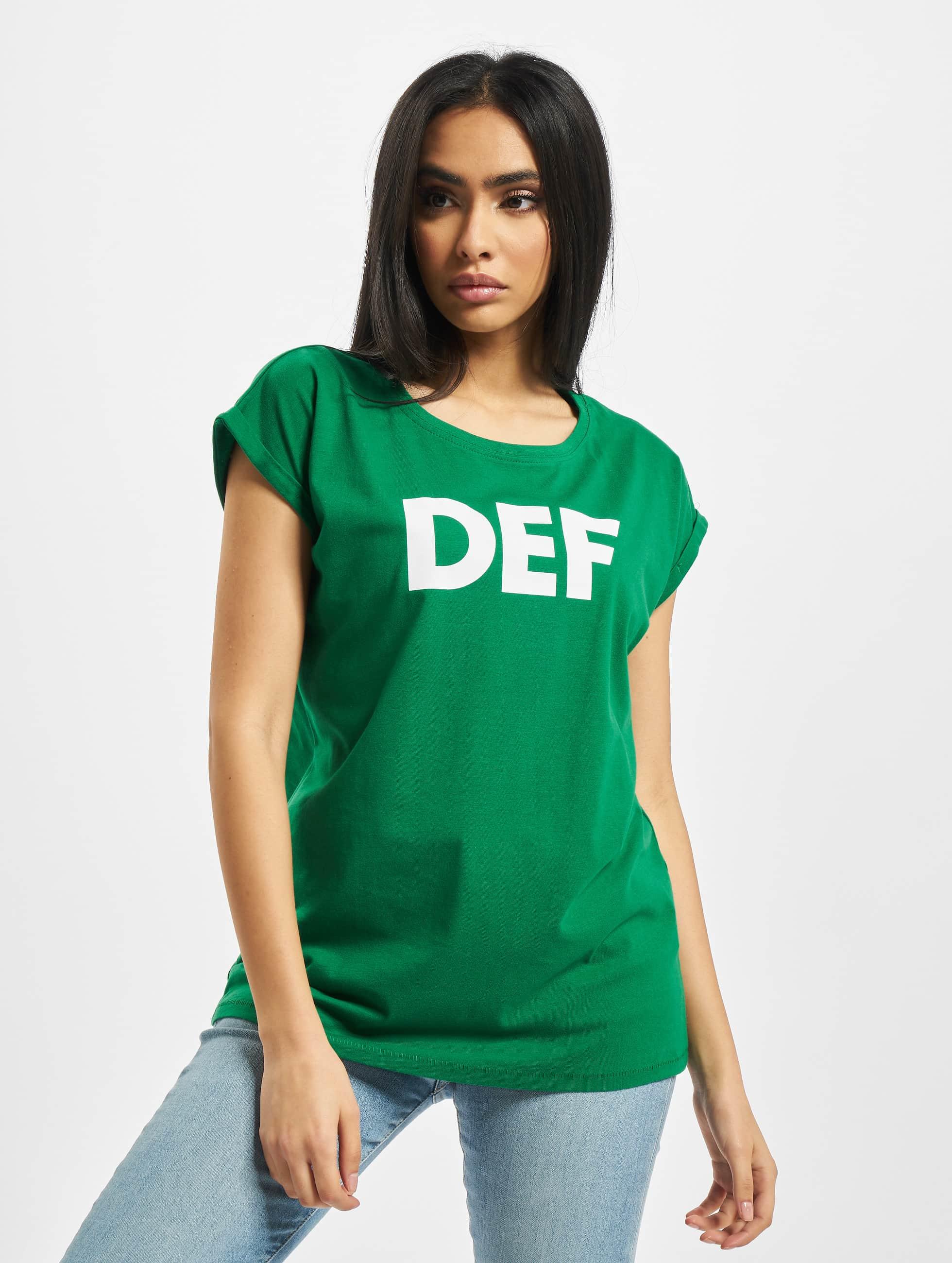 DEF / T-Shirt Sizza in green XS