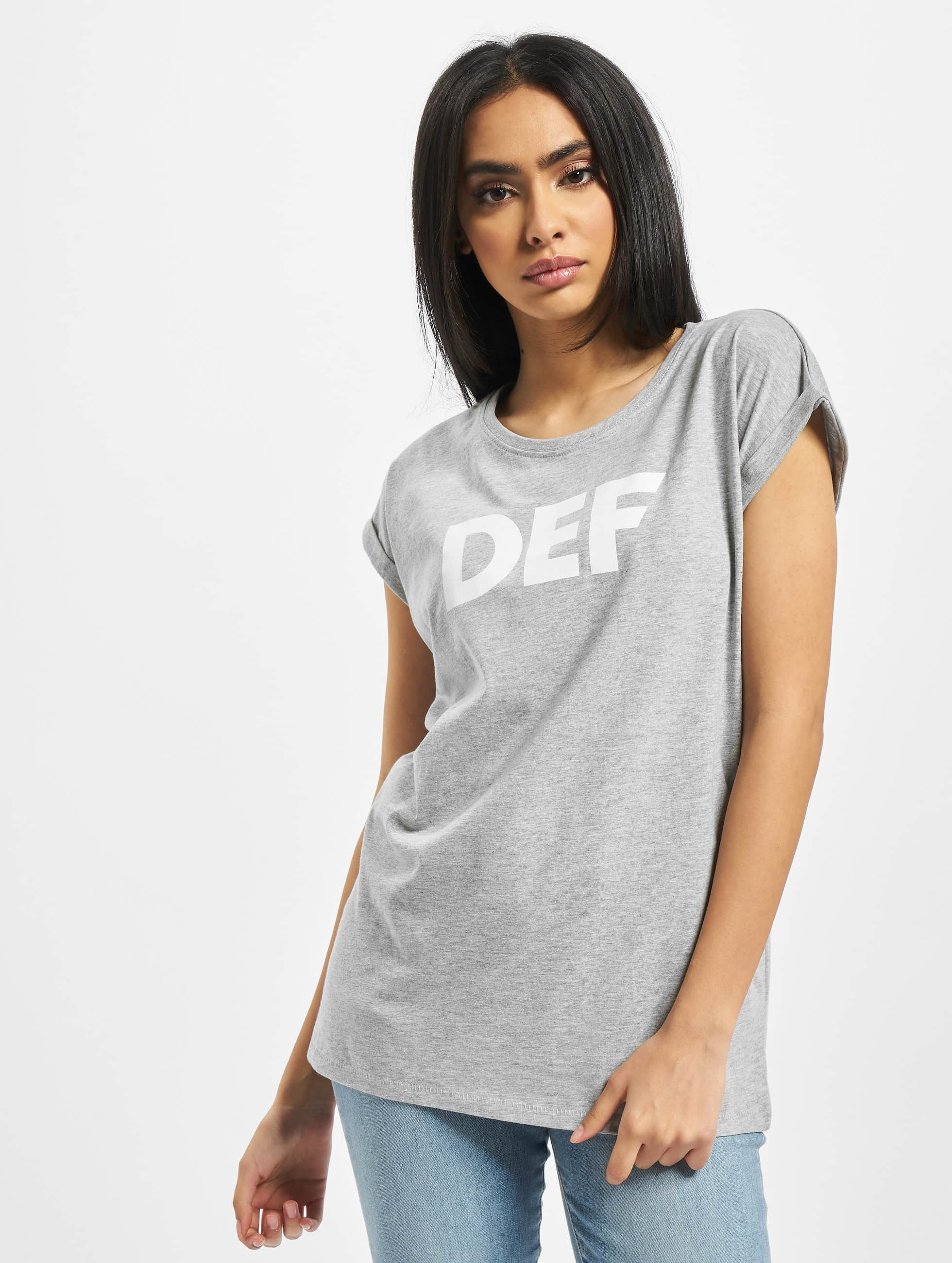 DEF / T-Shirt Sizza in grey XS