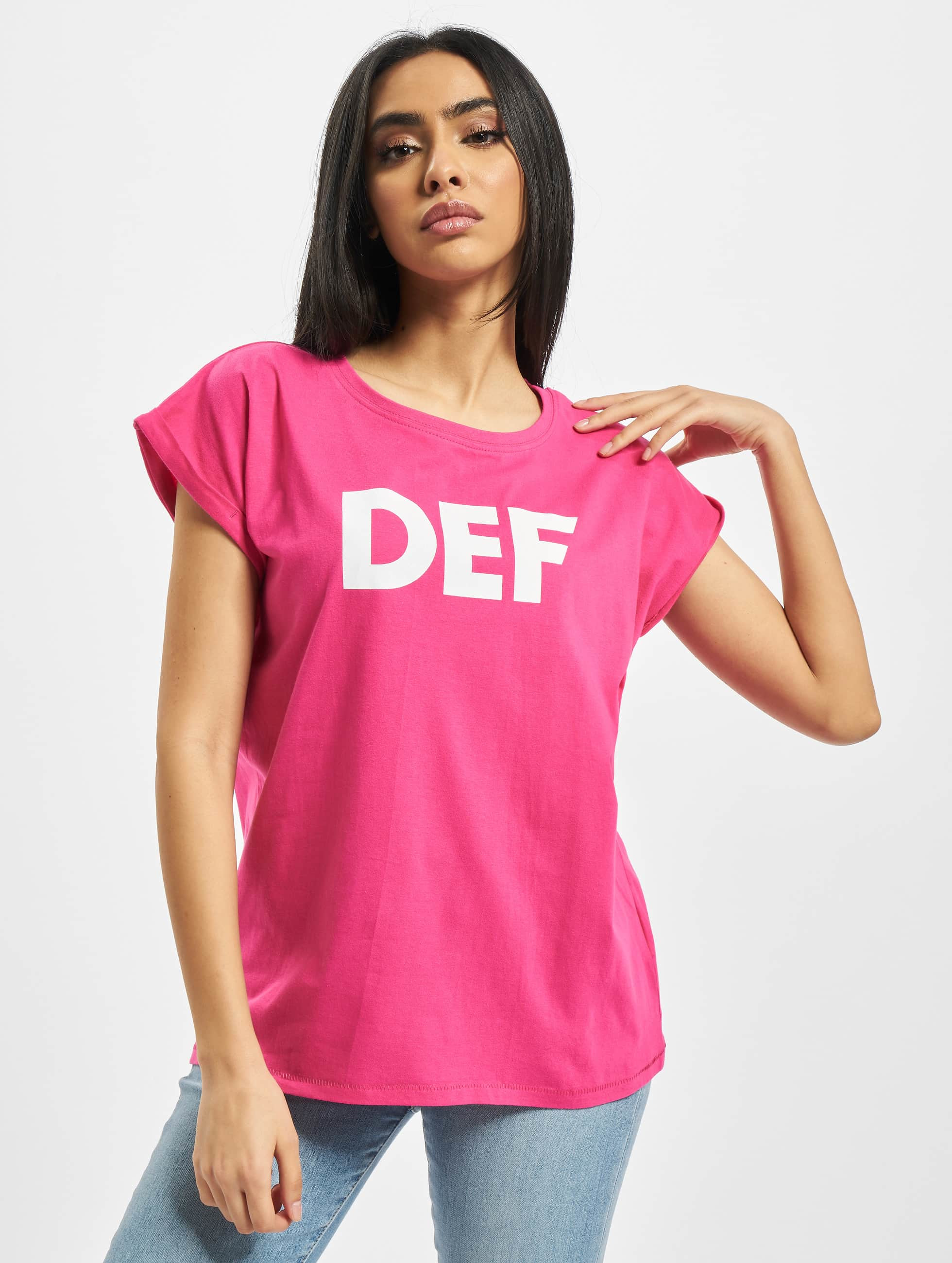 DEF / T-Shirt Sizza in pink XS