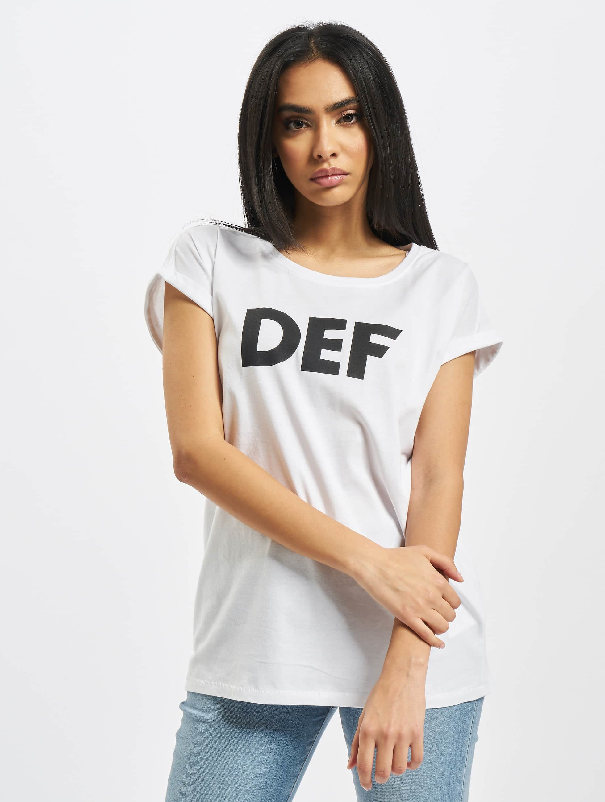 DEF / T-Shirt Sizza in white L