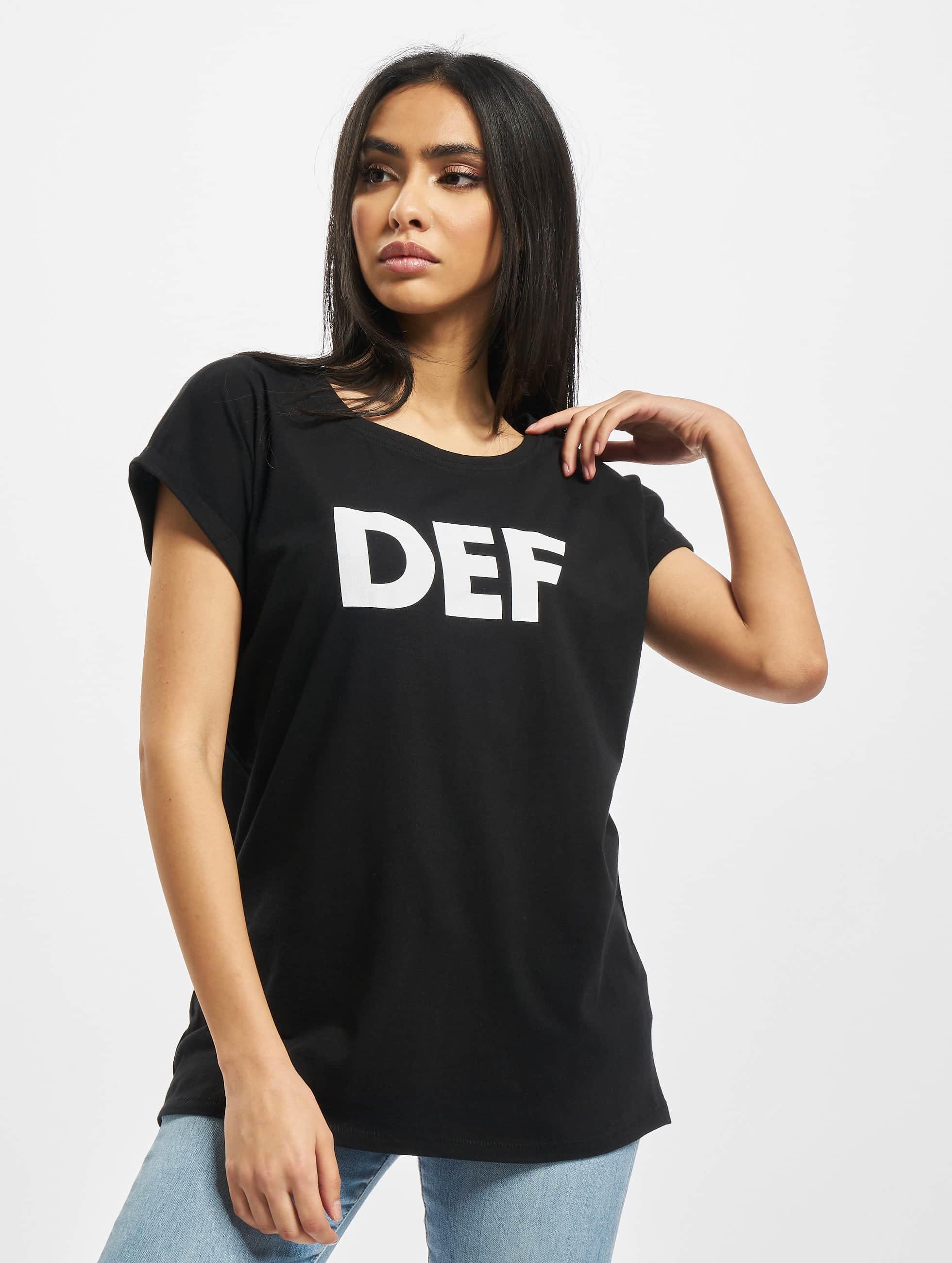DEF / T-Shirt Sizza in black XS