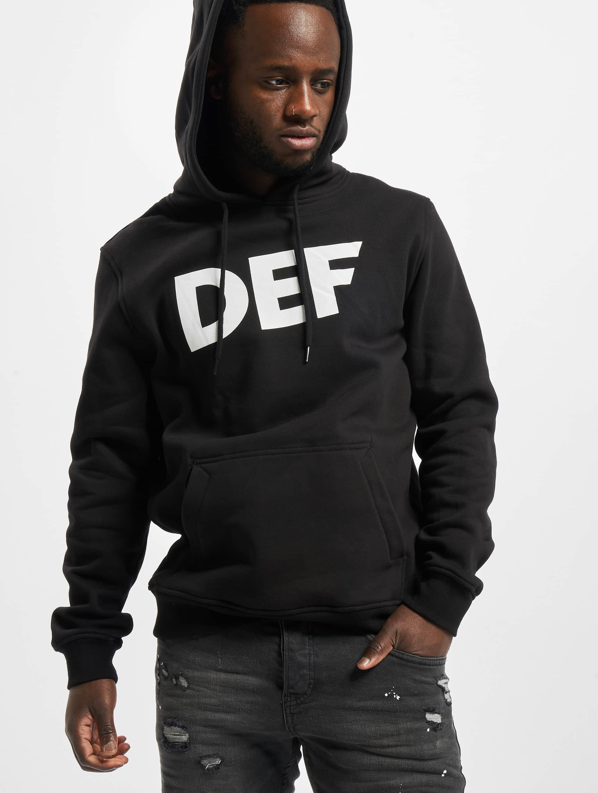 DEF / Hoodie Til Death in black XL