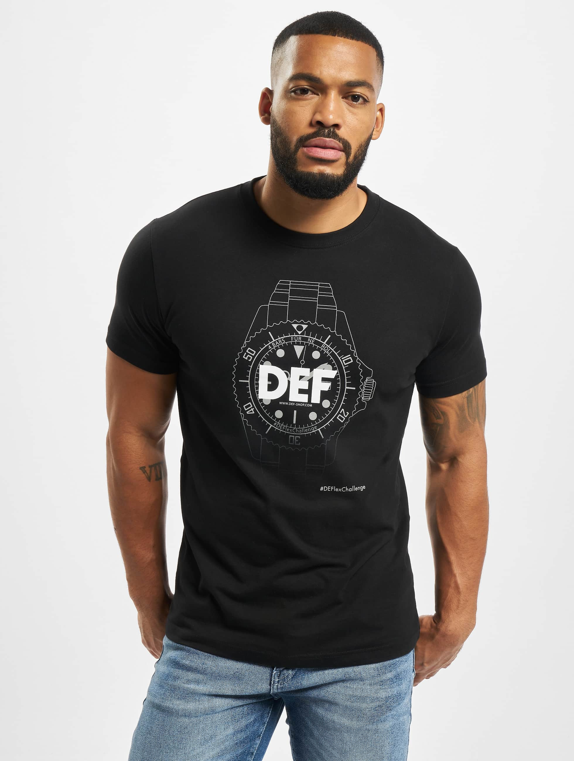 DEF / T-Shirt Roli in black 2XL