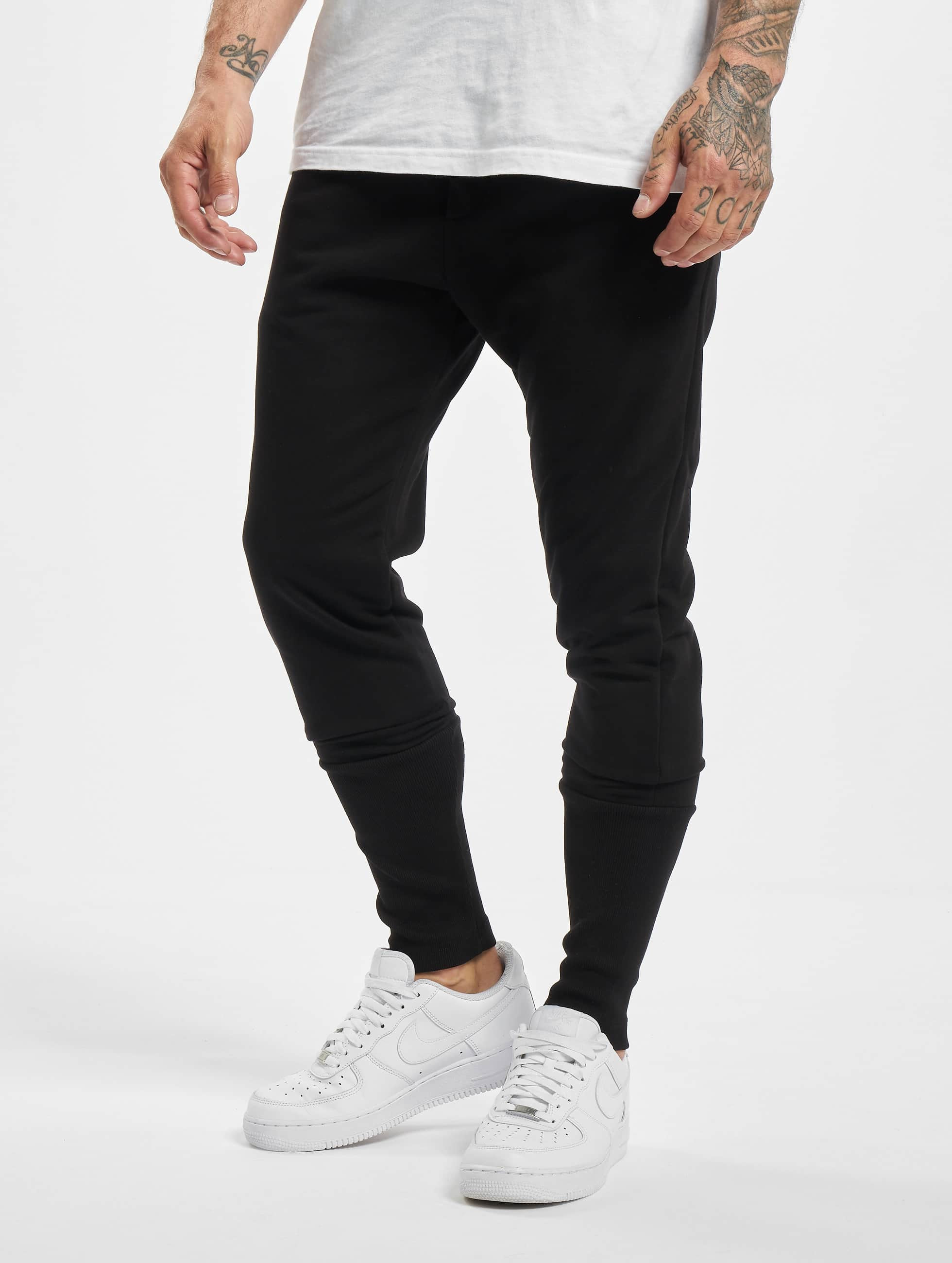 DEF / Sweat Pant Cliff in black XL
