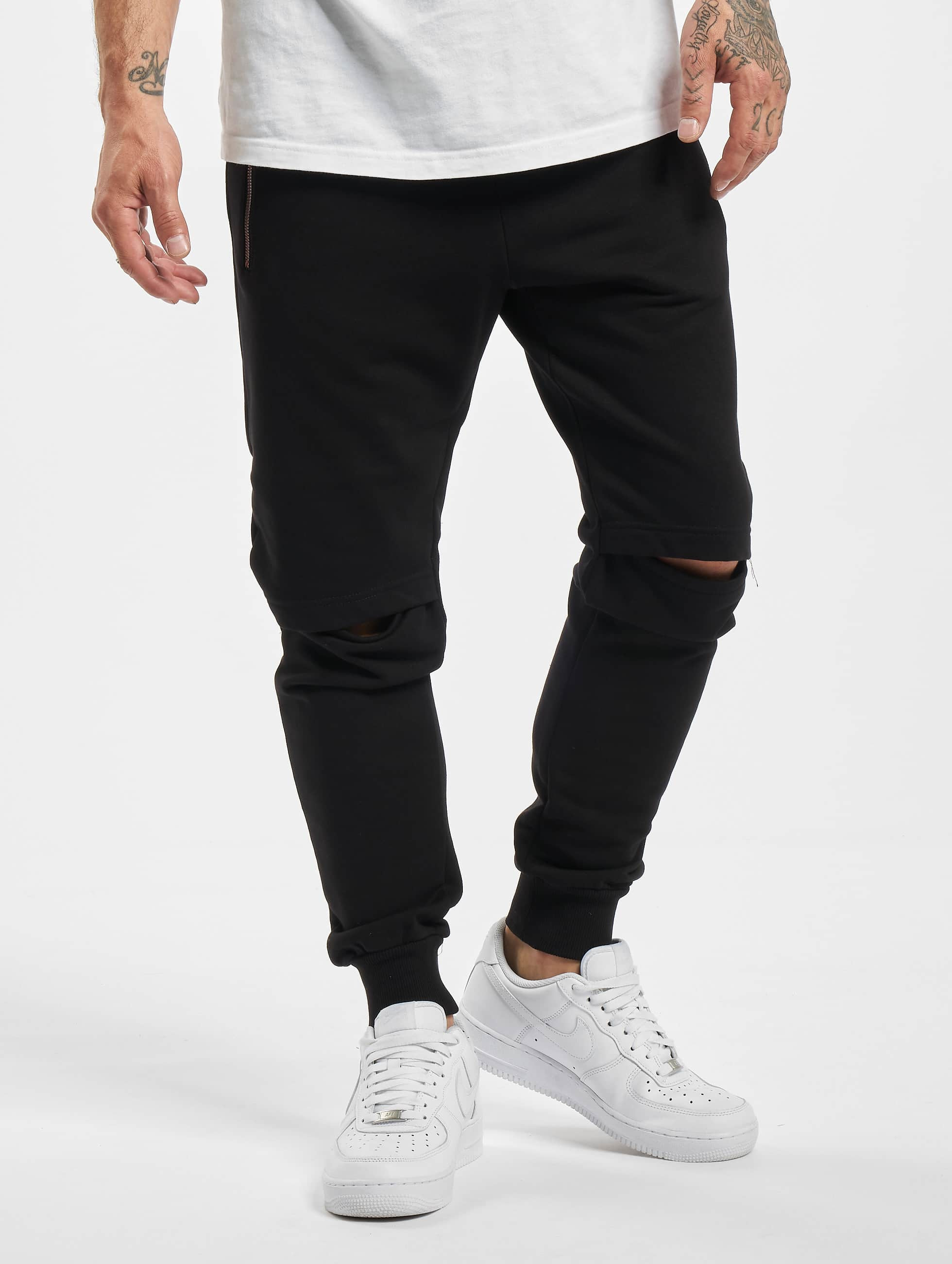 DEF / Sweat Pant Rider in black XL