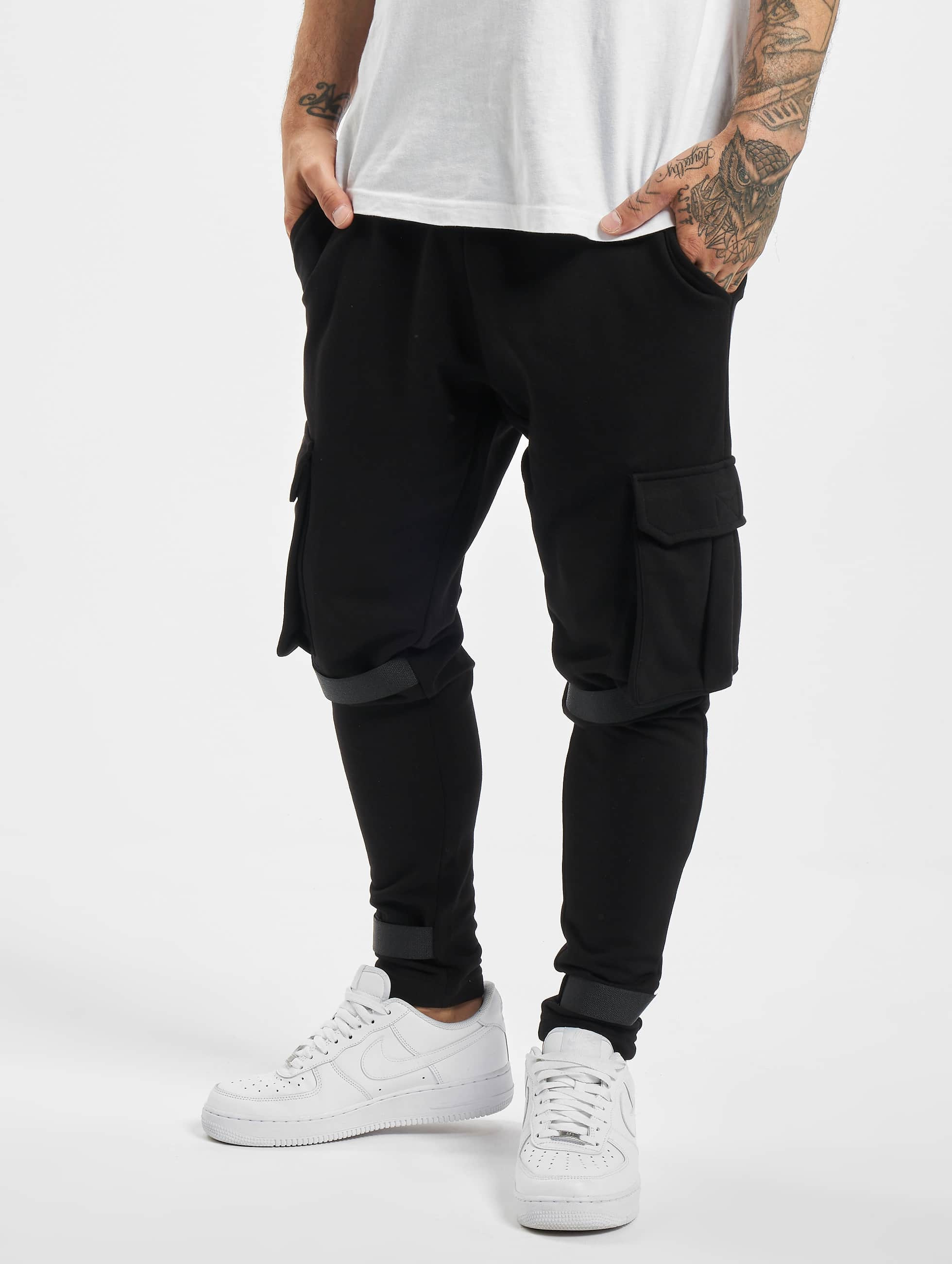 DEF / Sweat Pant Coda in black XL