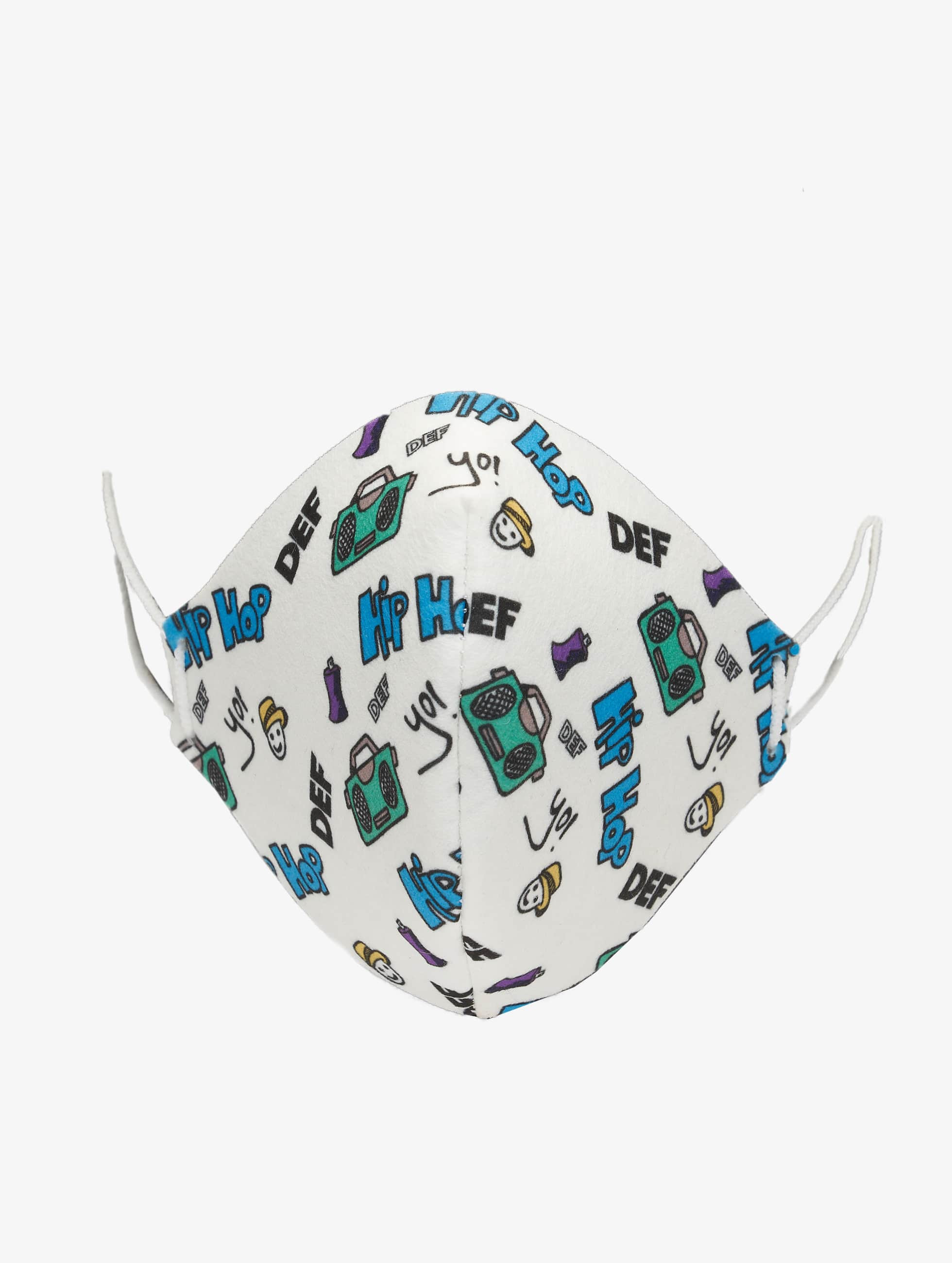 DEF / More Kids Face Mask in colored One Size