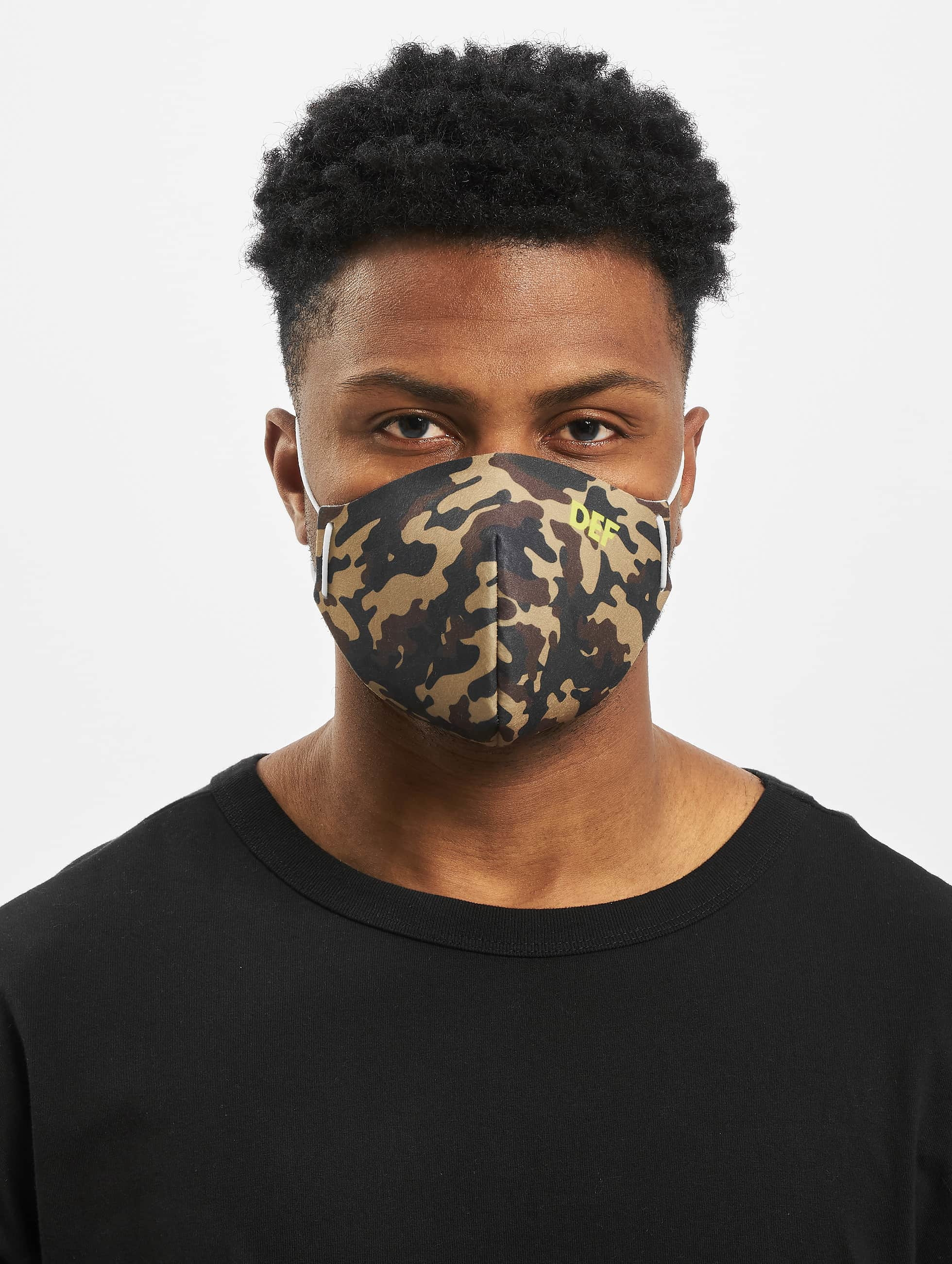 DEF / More Face Mask in camouflage One Size