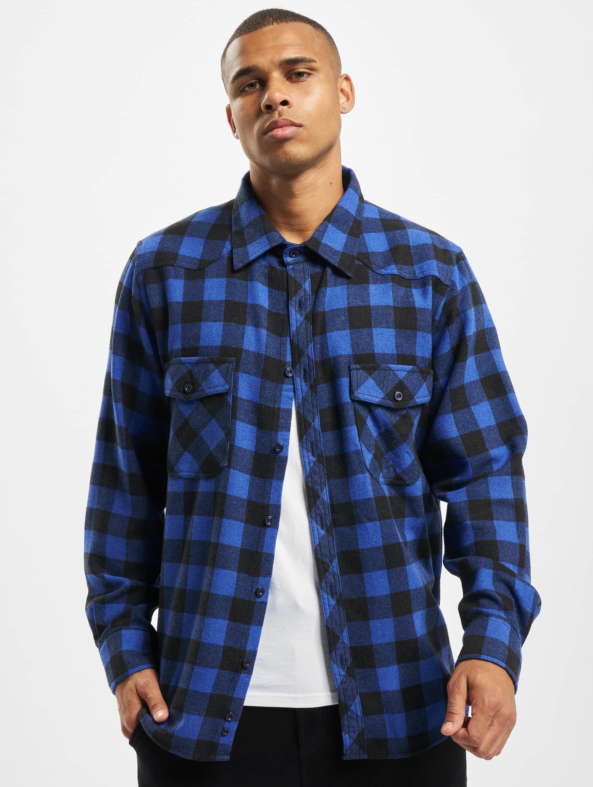 DEF / Shirt Maxim in blue XL