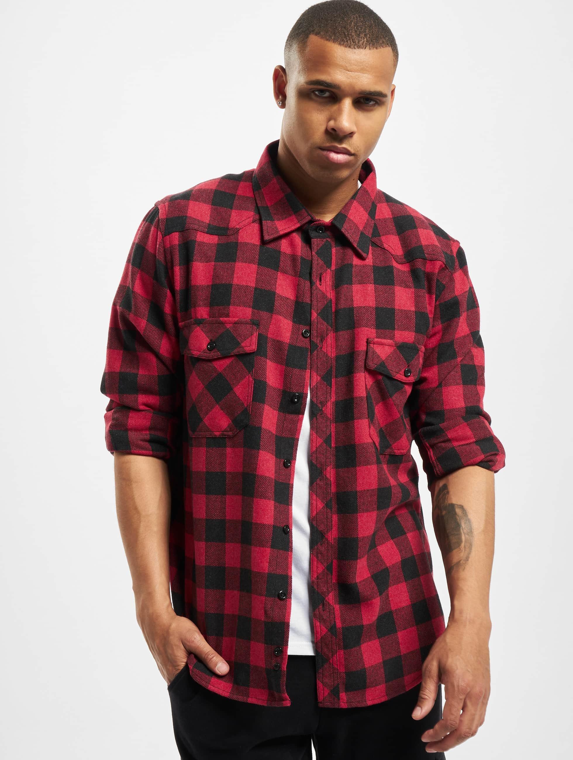 DEF / Shirt Maxim in red XL