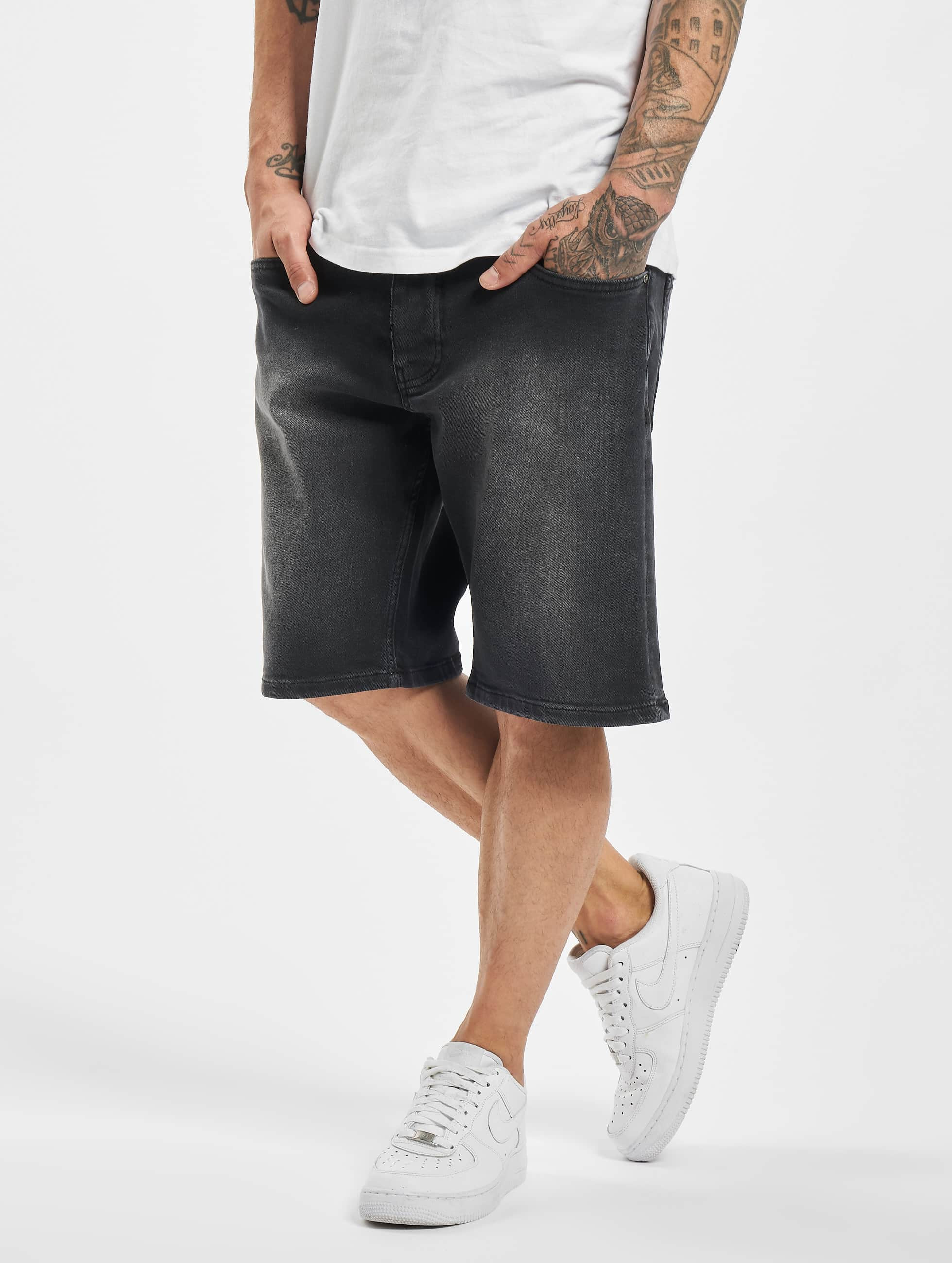 DEF / Short Georg in black W 36