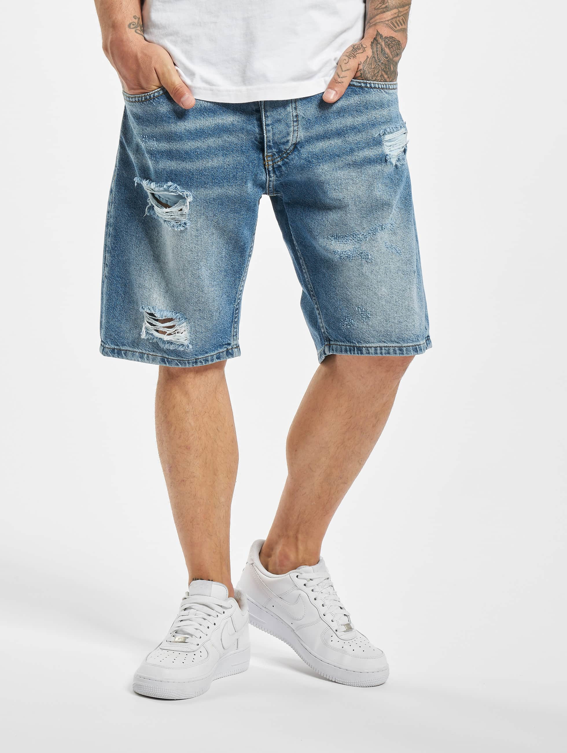 DEF / Short Milo in blue W 36