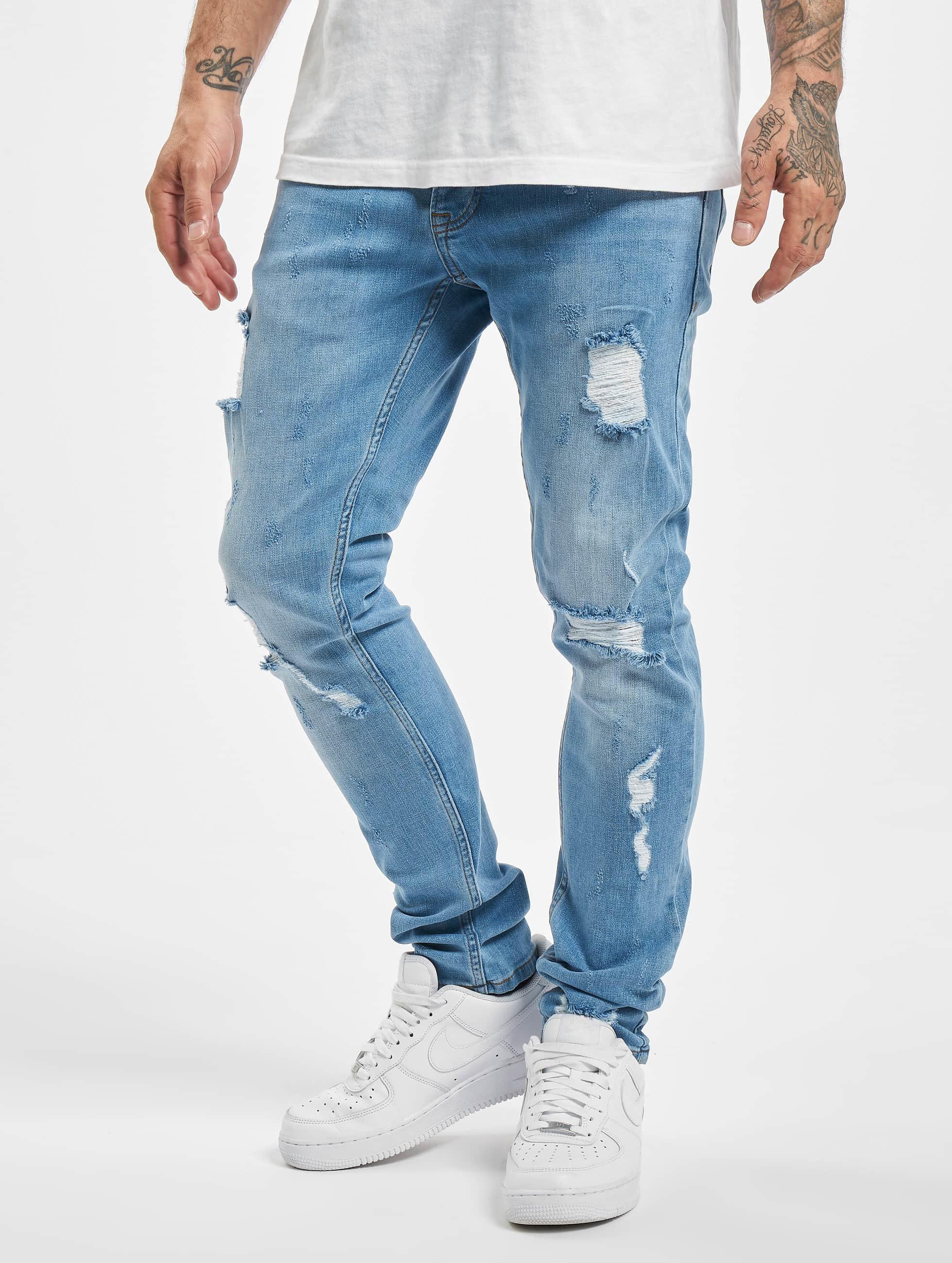 2Y / Slim Fit Jeans Claudio in blue W 33
