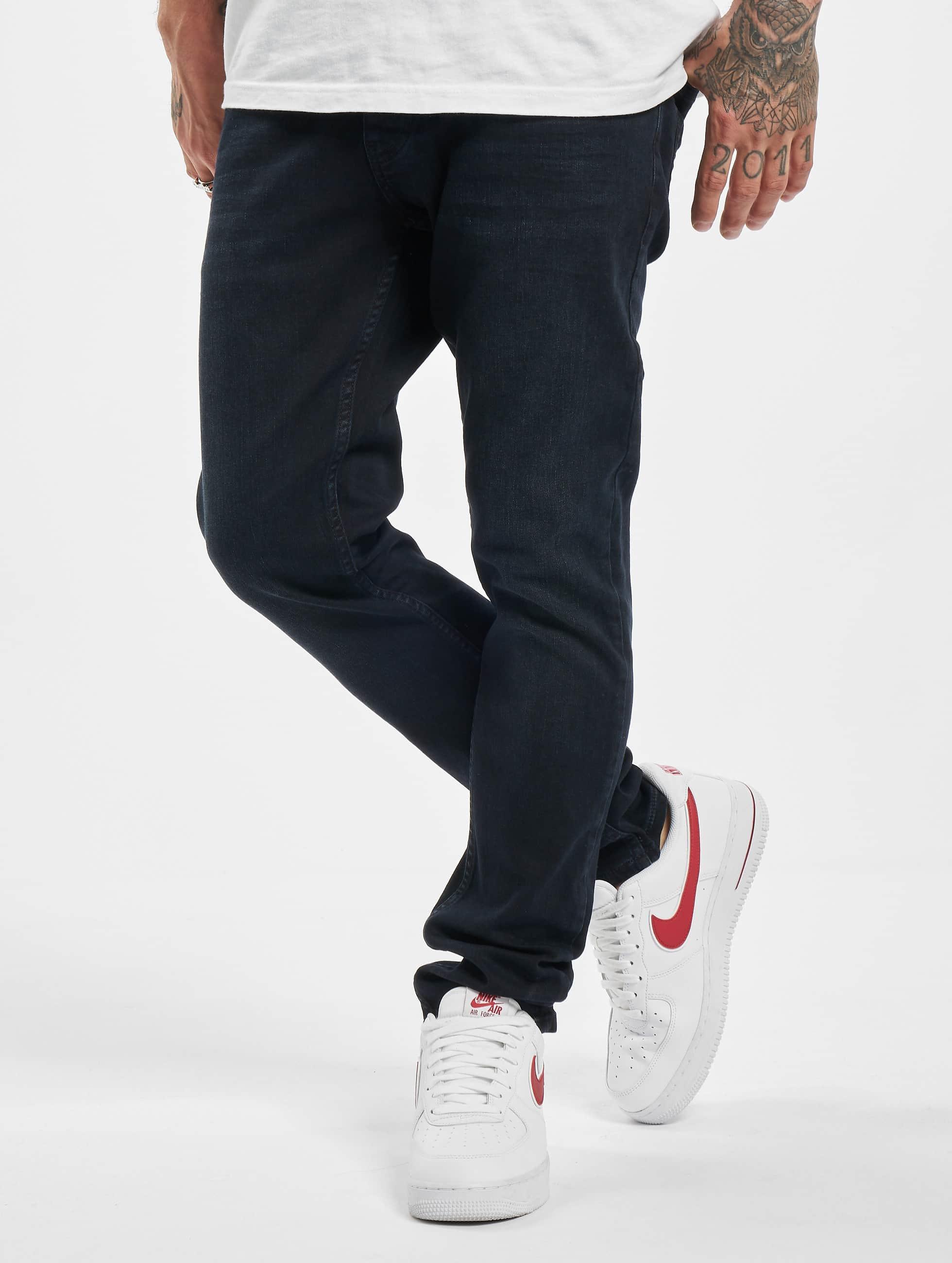 2Y / Slim Fit Jeans Leon in black W 36