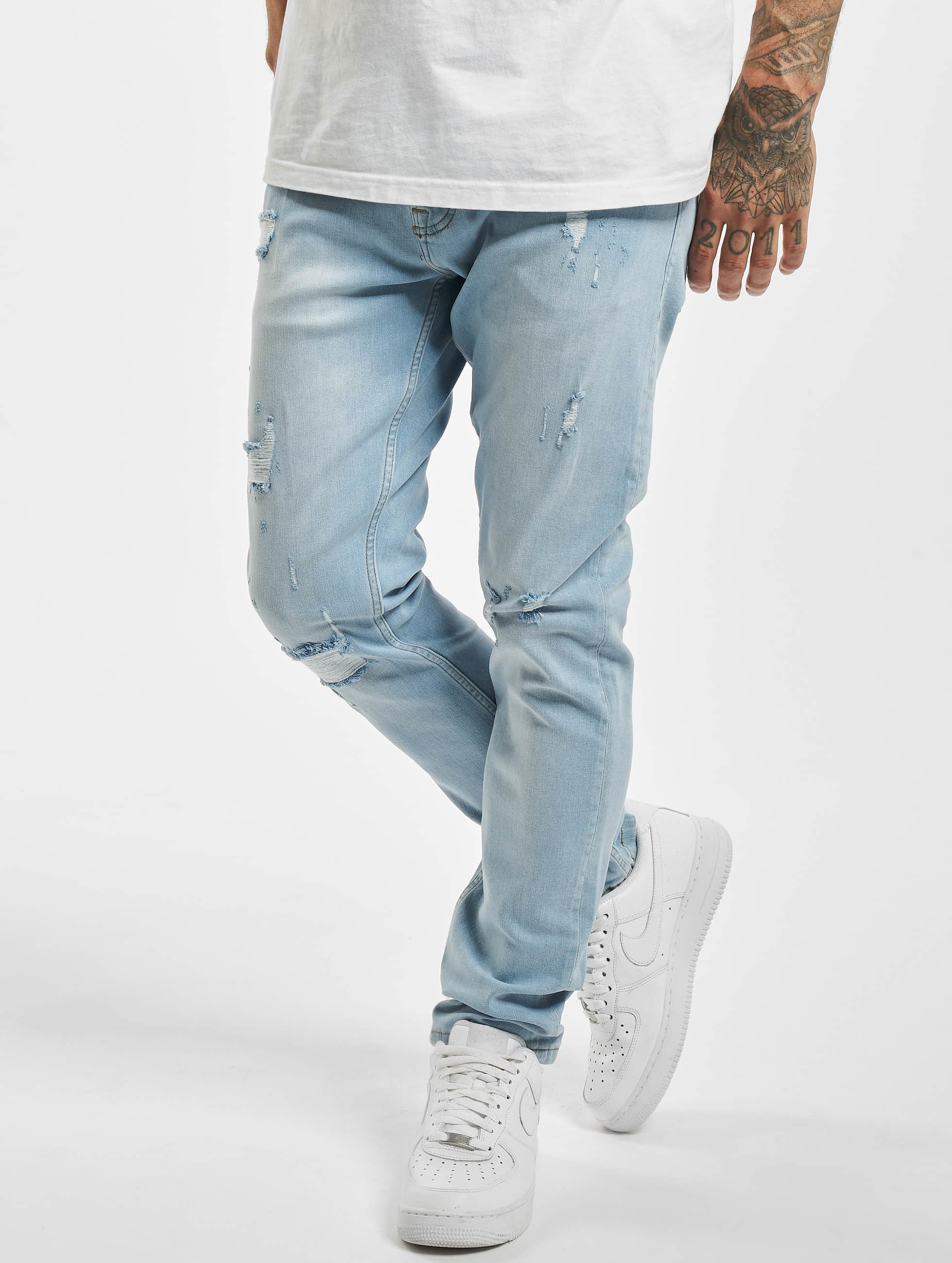 DEF / Straight Fit Jeans Jens in blue W 38
