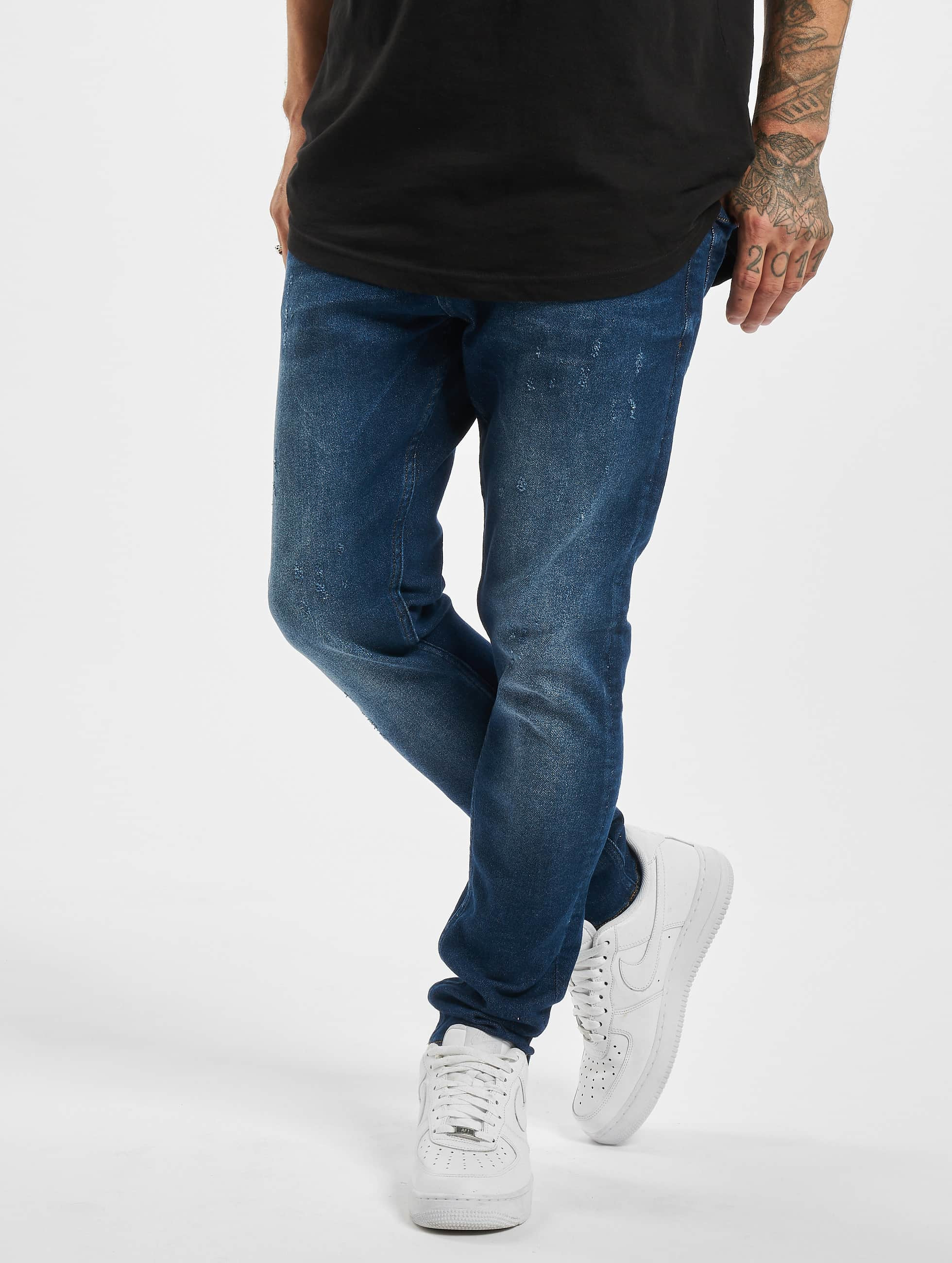 DEF / Straight Fit Jeans Tom in blue W 38