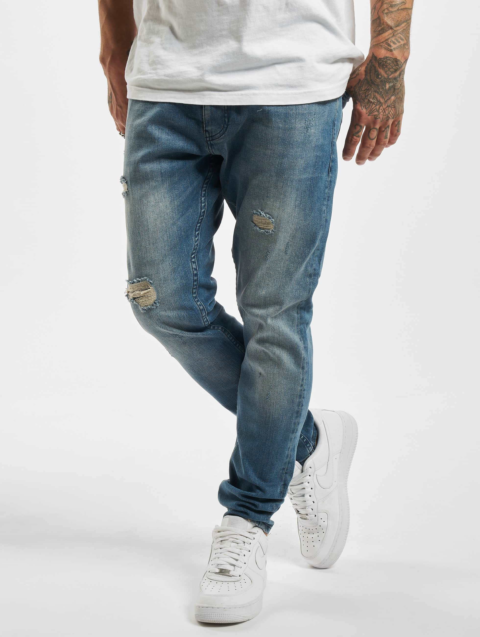 DEF / Straight Fit Jeans Jimmy in blue W 38