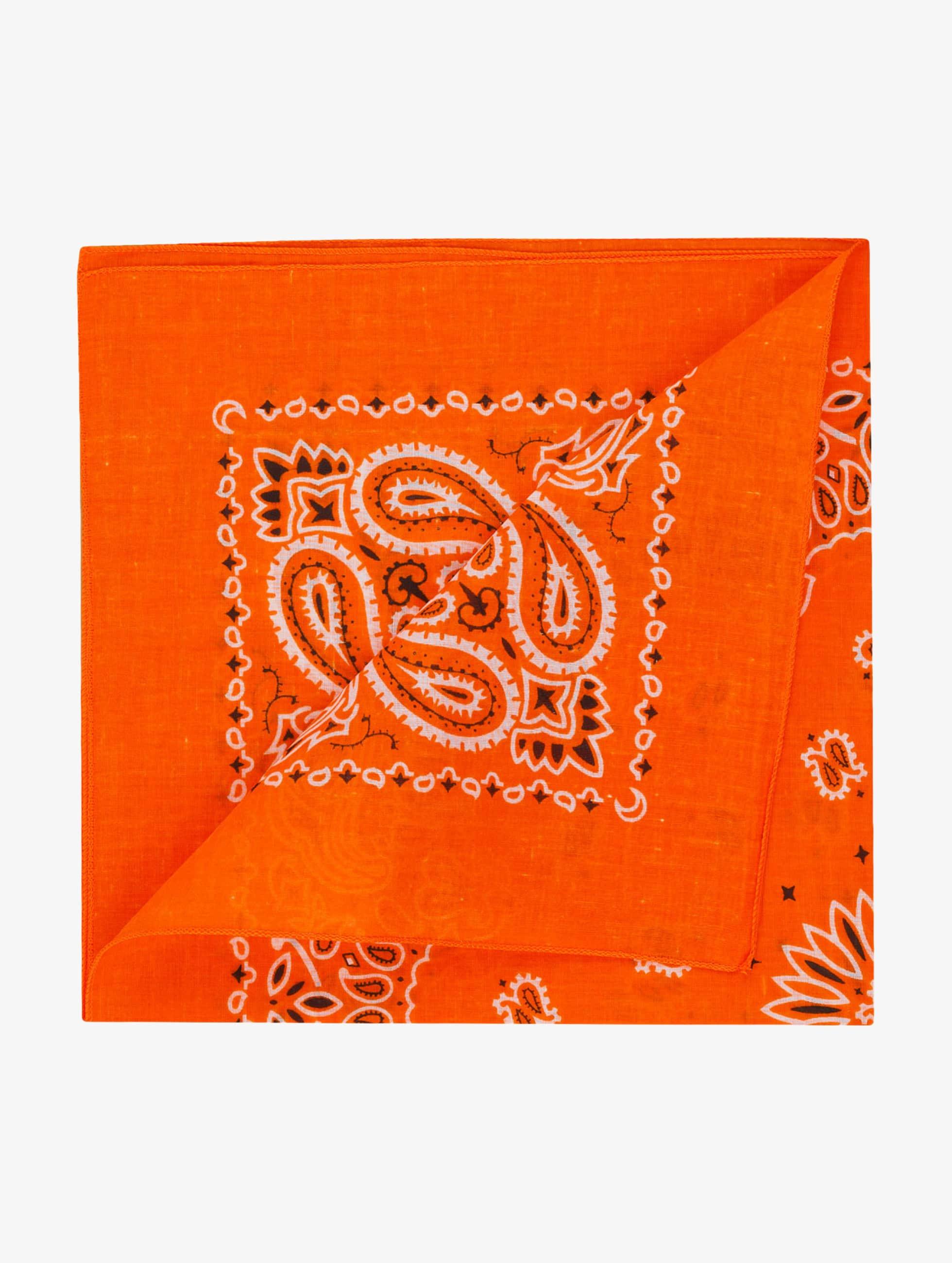 MSTRDS Männer,Frauen Bandana Printed in orange