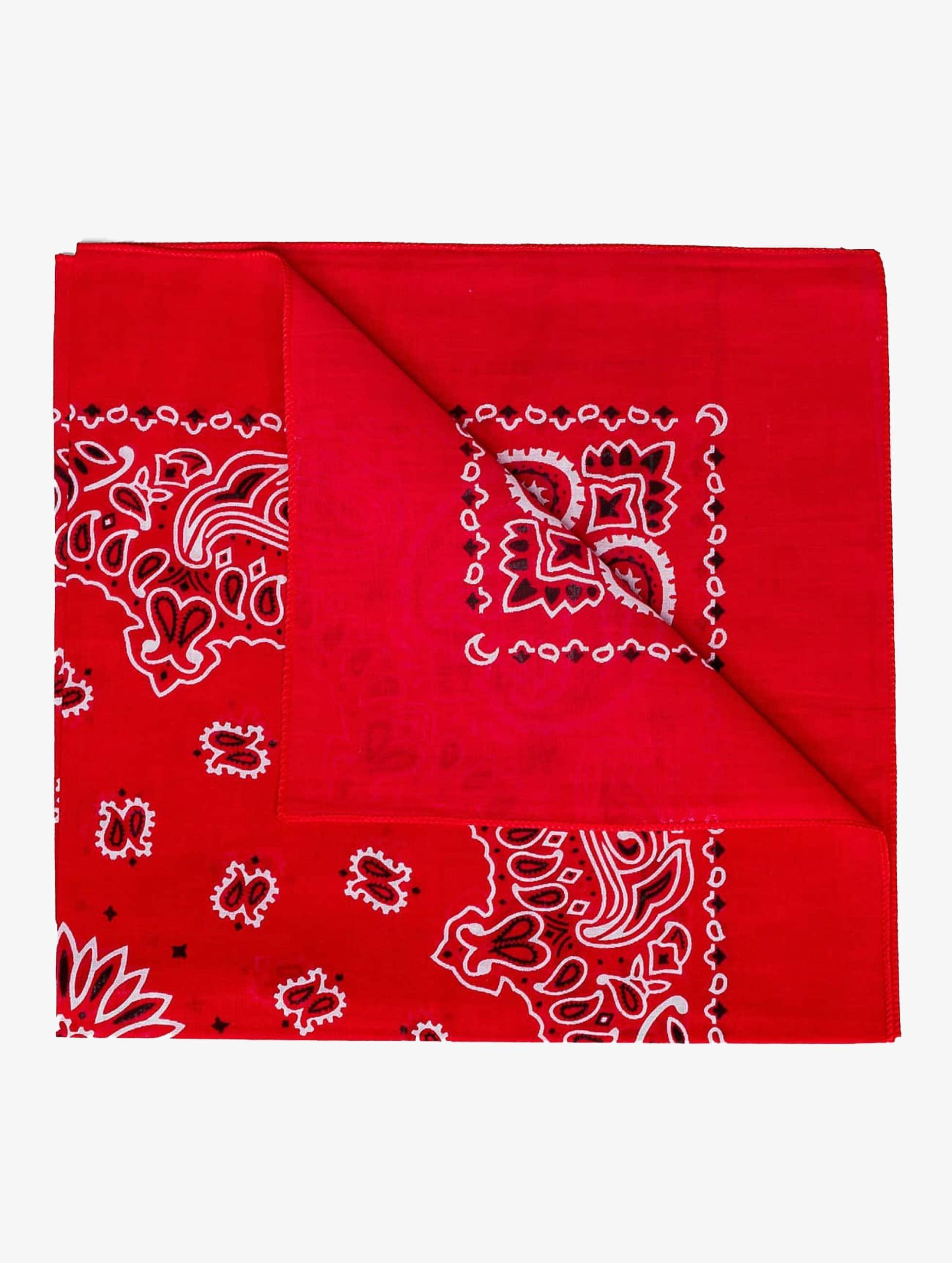 MSTRDS Männer,Frauen Bandana Printed in rot